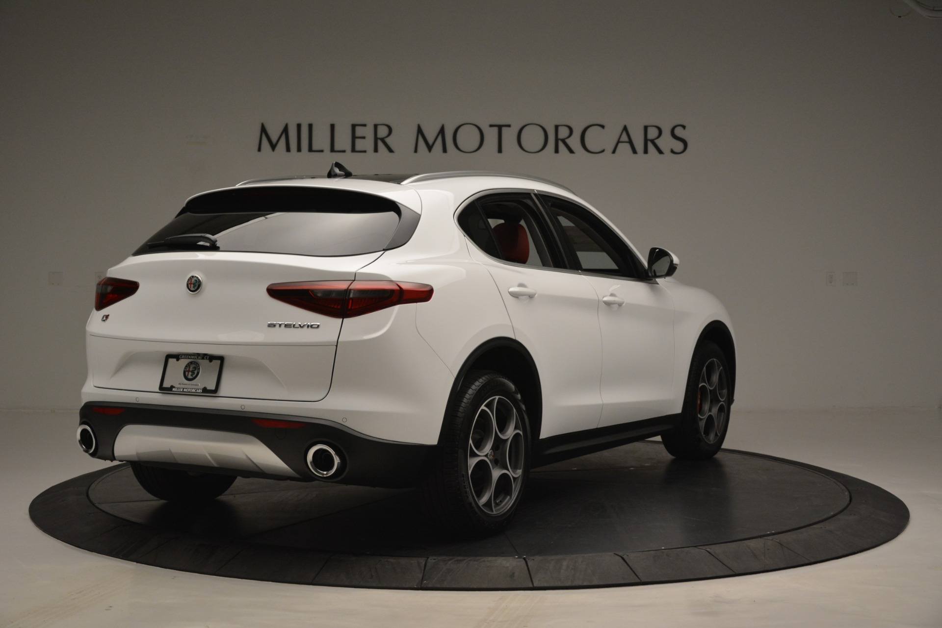 New 2019 Alfa Romeo Stelvio Q4 For Sale In Westport, CT 2657_p7