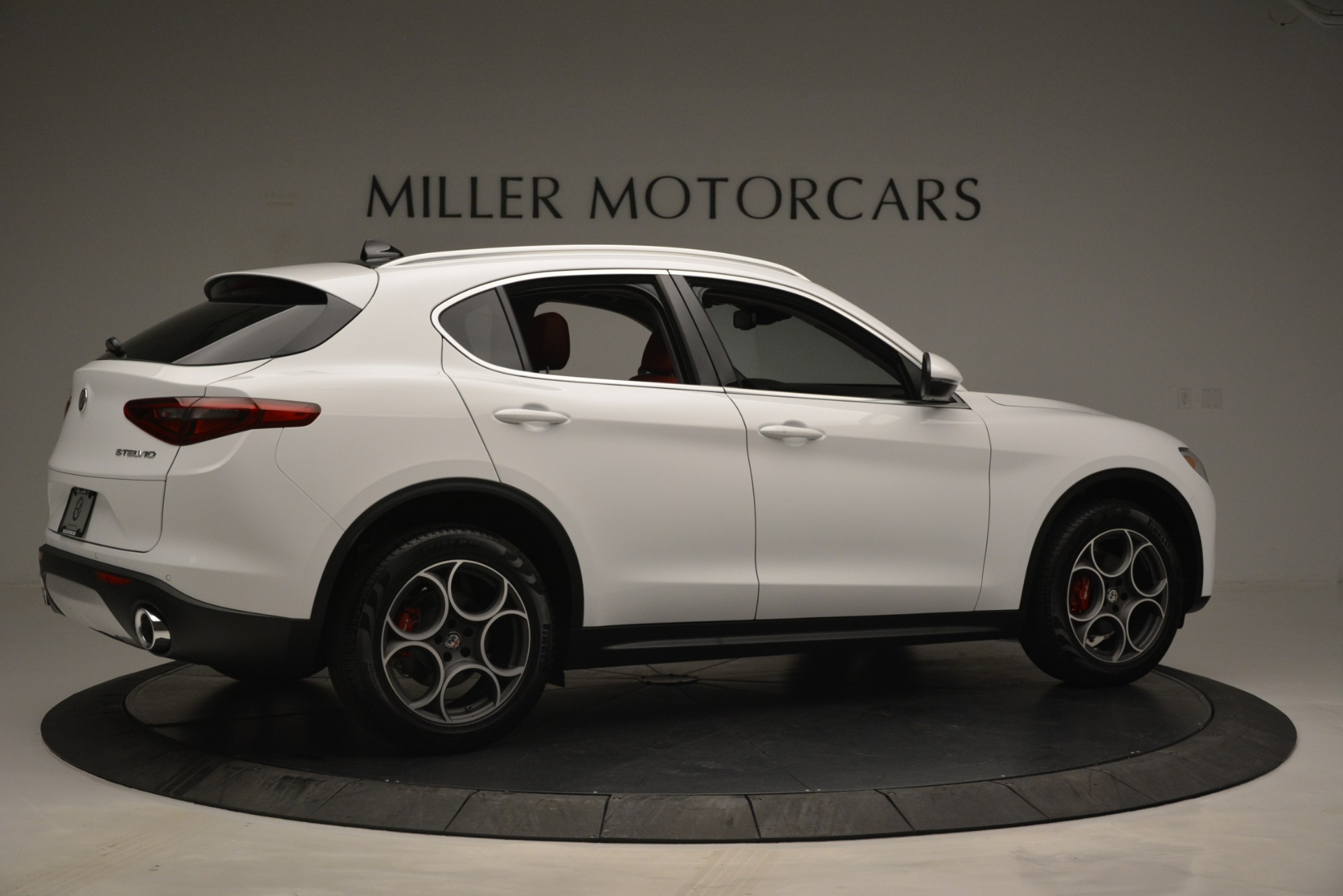 New 2019 Alfa Romeo Stelvio Q4 For Sale In Westport, CT 2657_p8