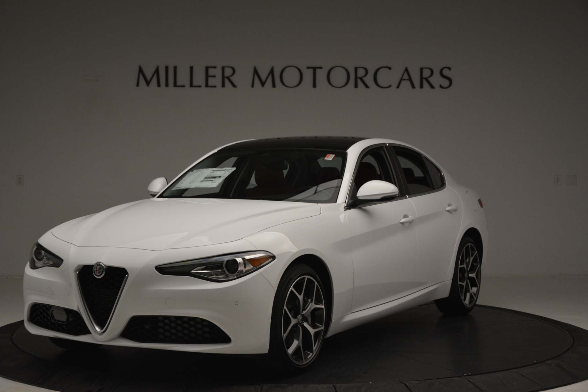 New 2019 Alfa Romeo Giulia Ti Q4 For Sale In Westport, CT 2667_main