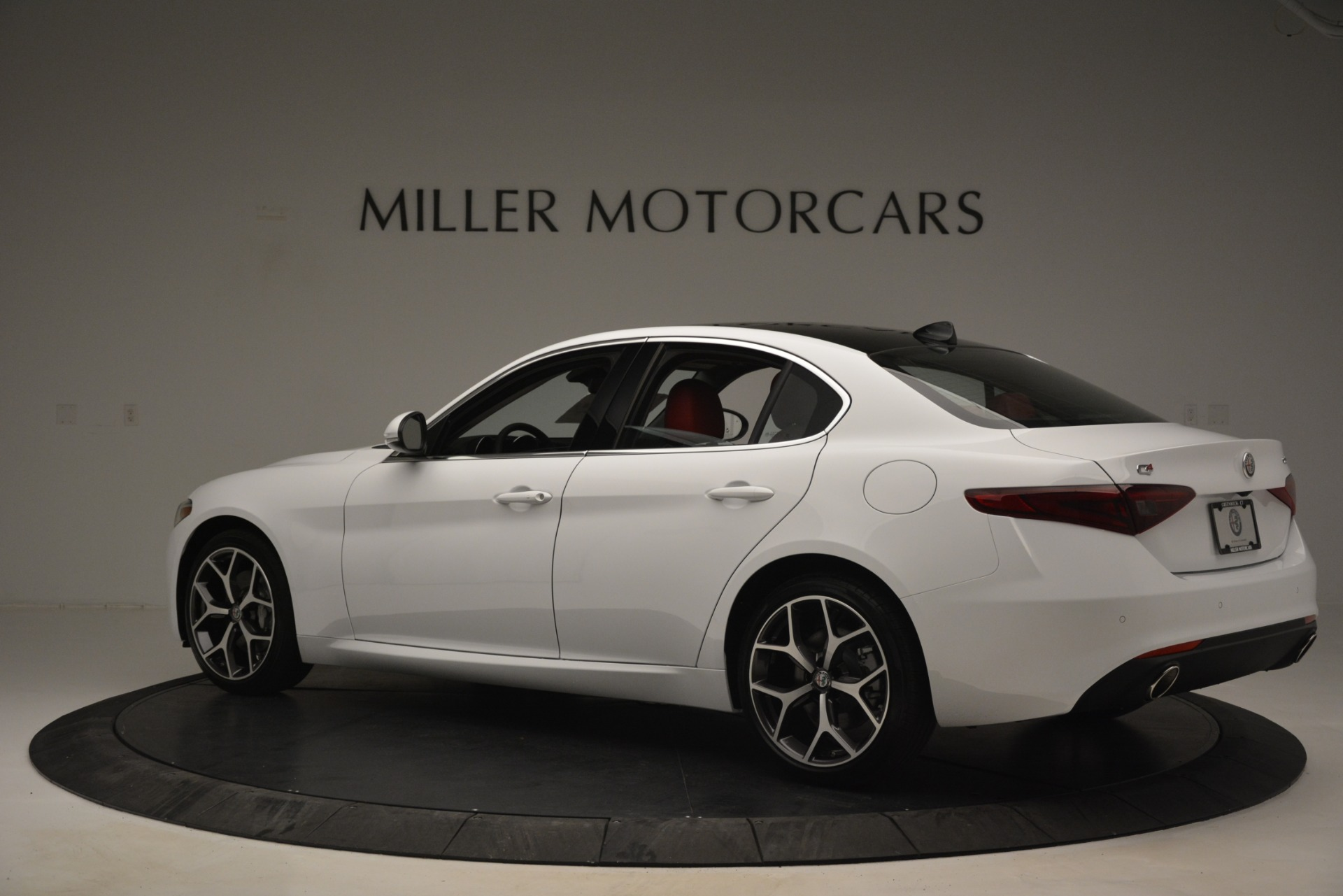 New 2019 Alfa Romeo Giulia Ti Q4 For Sale In Westport, CT 2667_p4