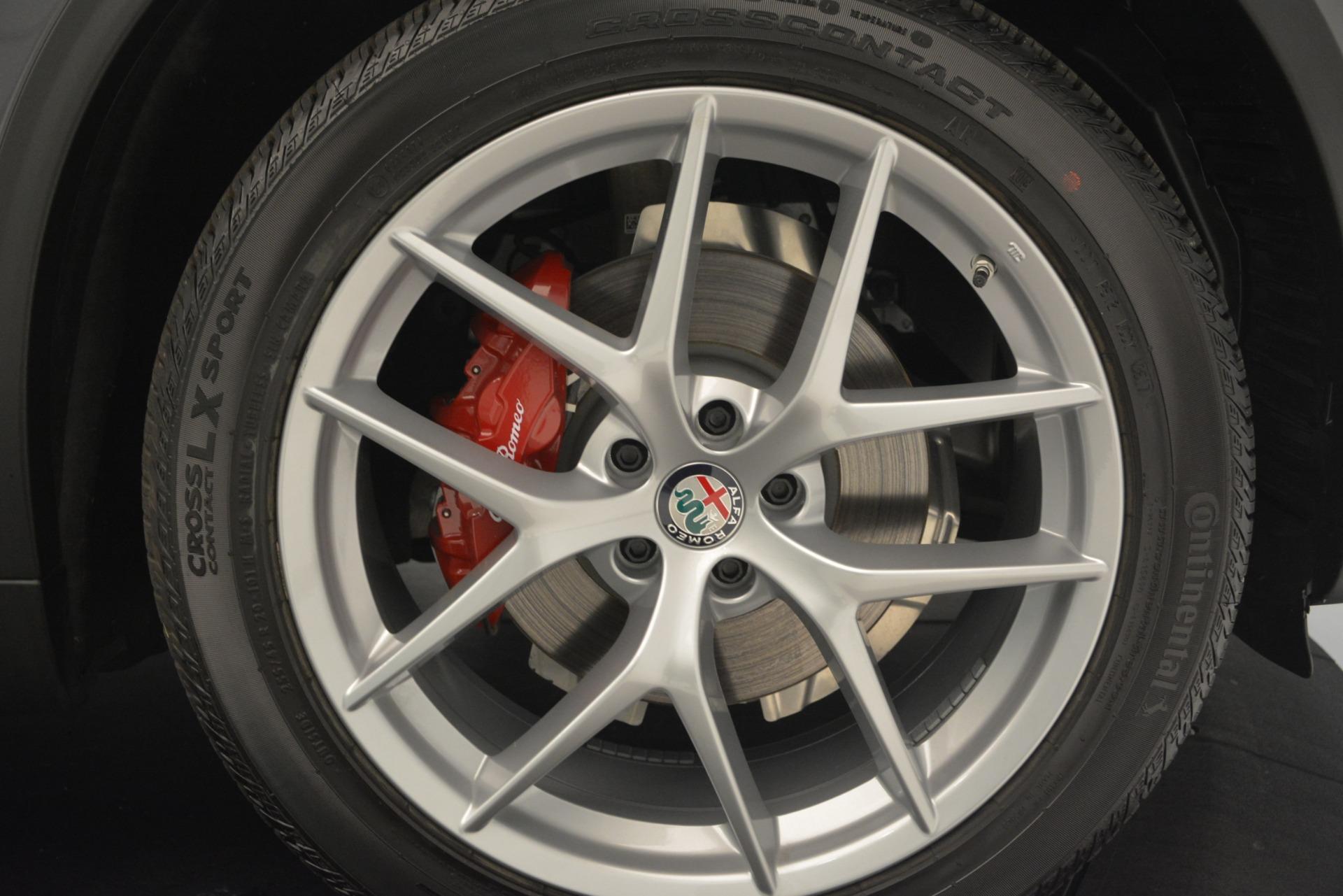 New 2019 Alfa Romeo Stelvio Ti Sport Q4 For Sale In Westport, CT 2668_p25
