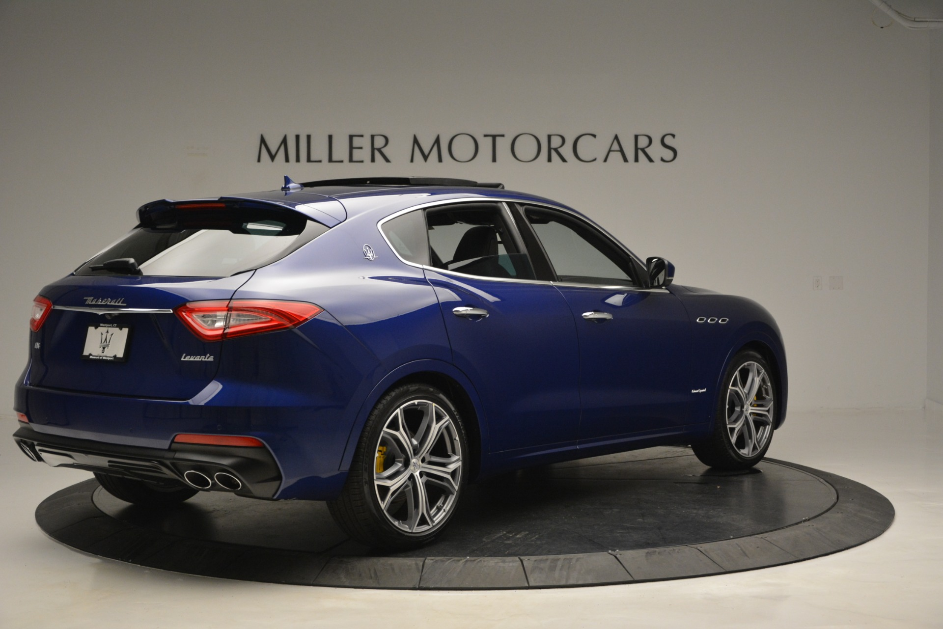 New 2019 Maserati Levante Q4 GranSport For Sale In Westport, CT 2670_p11