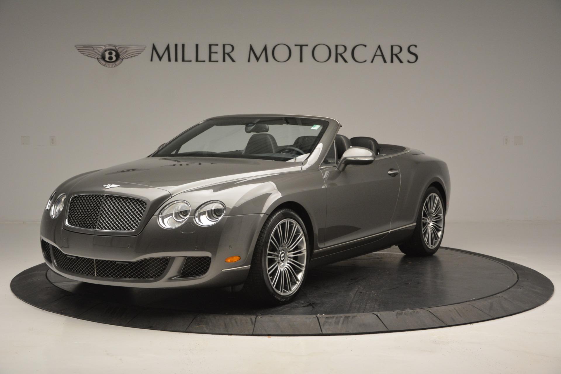 Used 2010 Bentley Continental GT Speed For Sale In Westport, CT 2677_main
