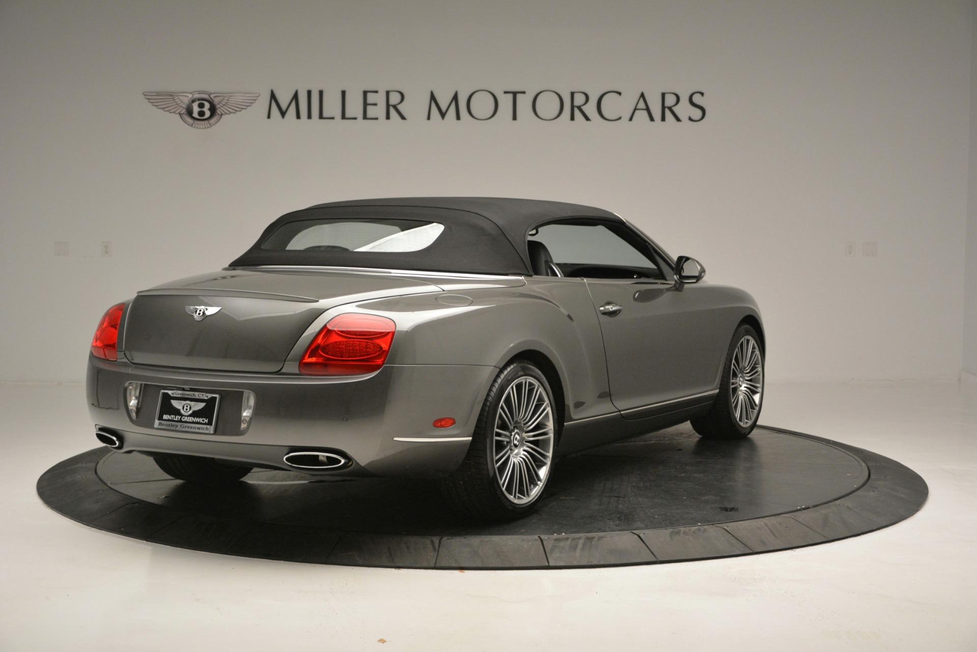 Used 2010 Bentley Continental GT Speed For Sale In Westport, CT 2677_p15
