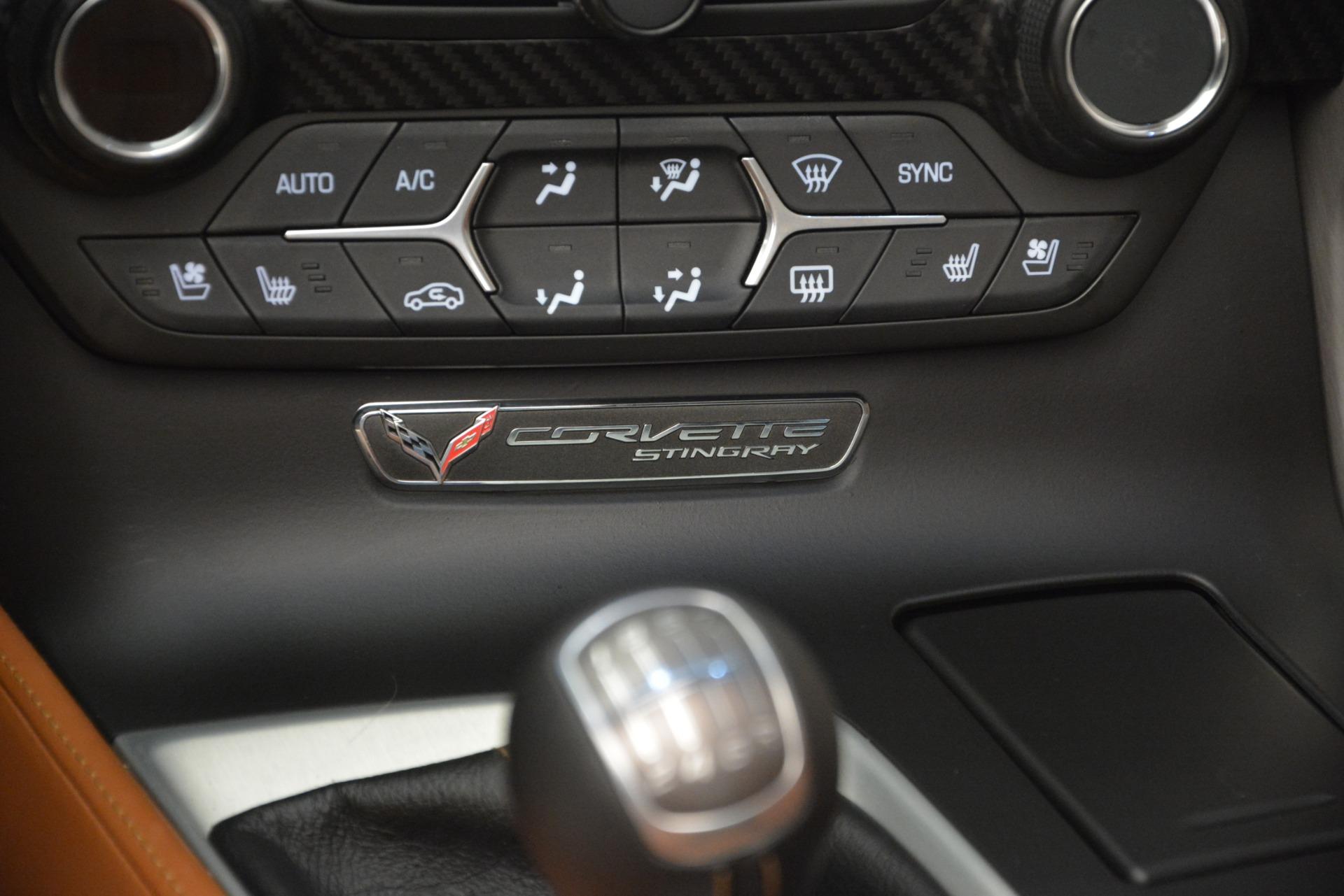 Used 2014 Chevrolet Corvette Stingray Z51 For Sale In Westport, CT 2703_p23