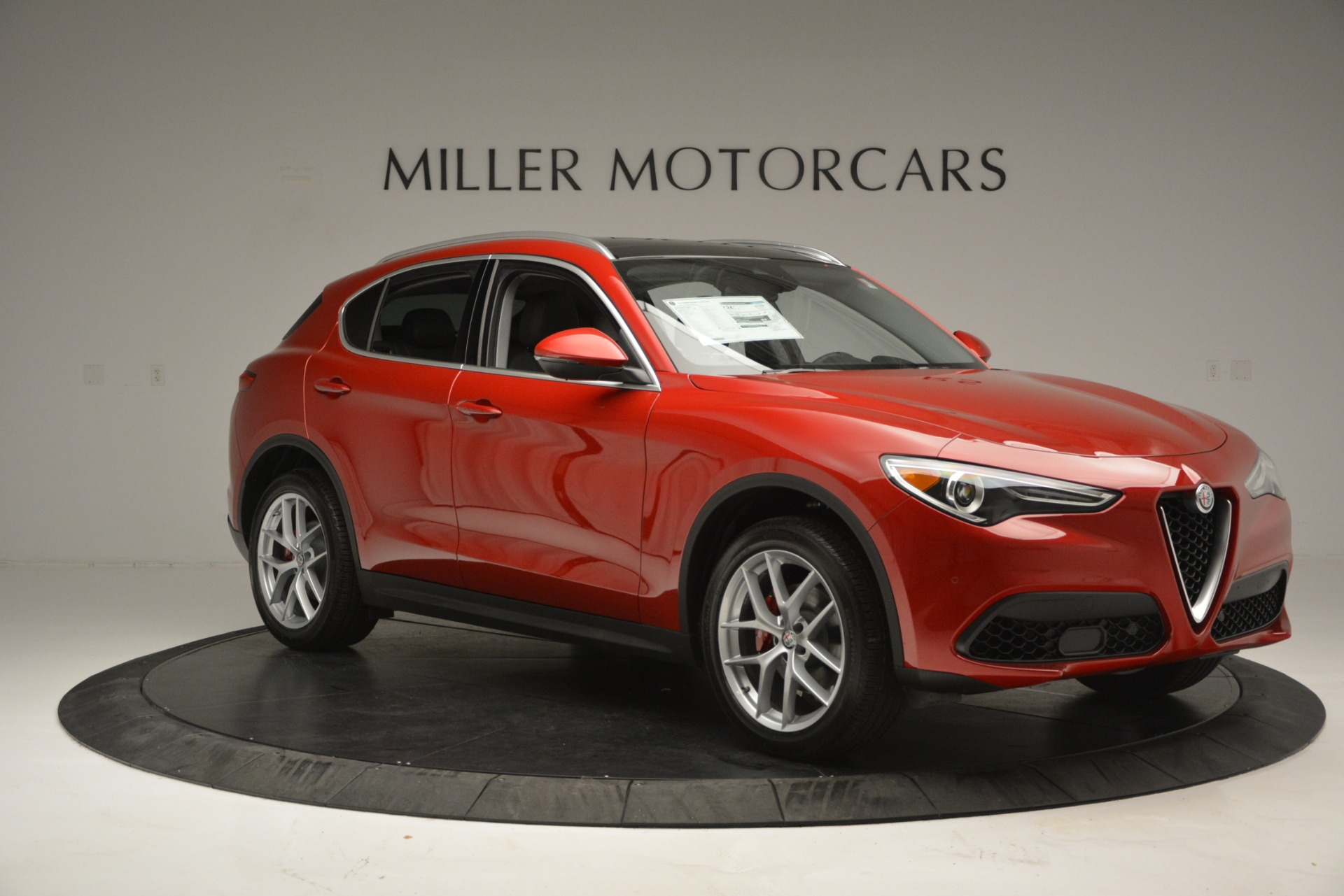New 2018 Alfa Romeo Stelvio Ti Lusso Q4 For Sale In Westport, CT 2704_p10