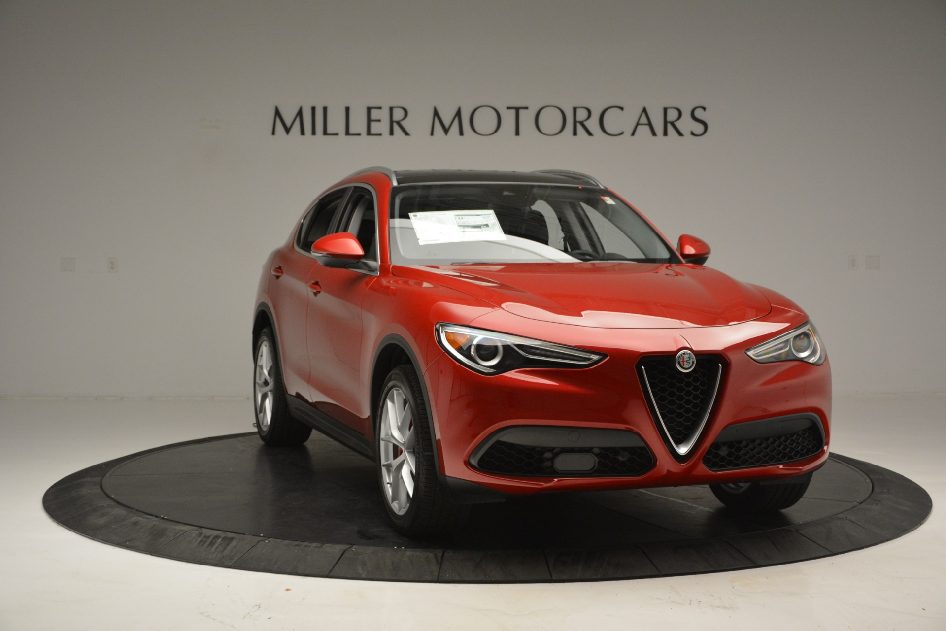 New 2018 Alfa Romeo Stelvio Ti Lusso Q4 For Sale In Westport, CT 2704_p11