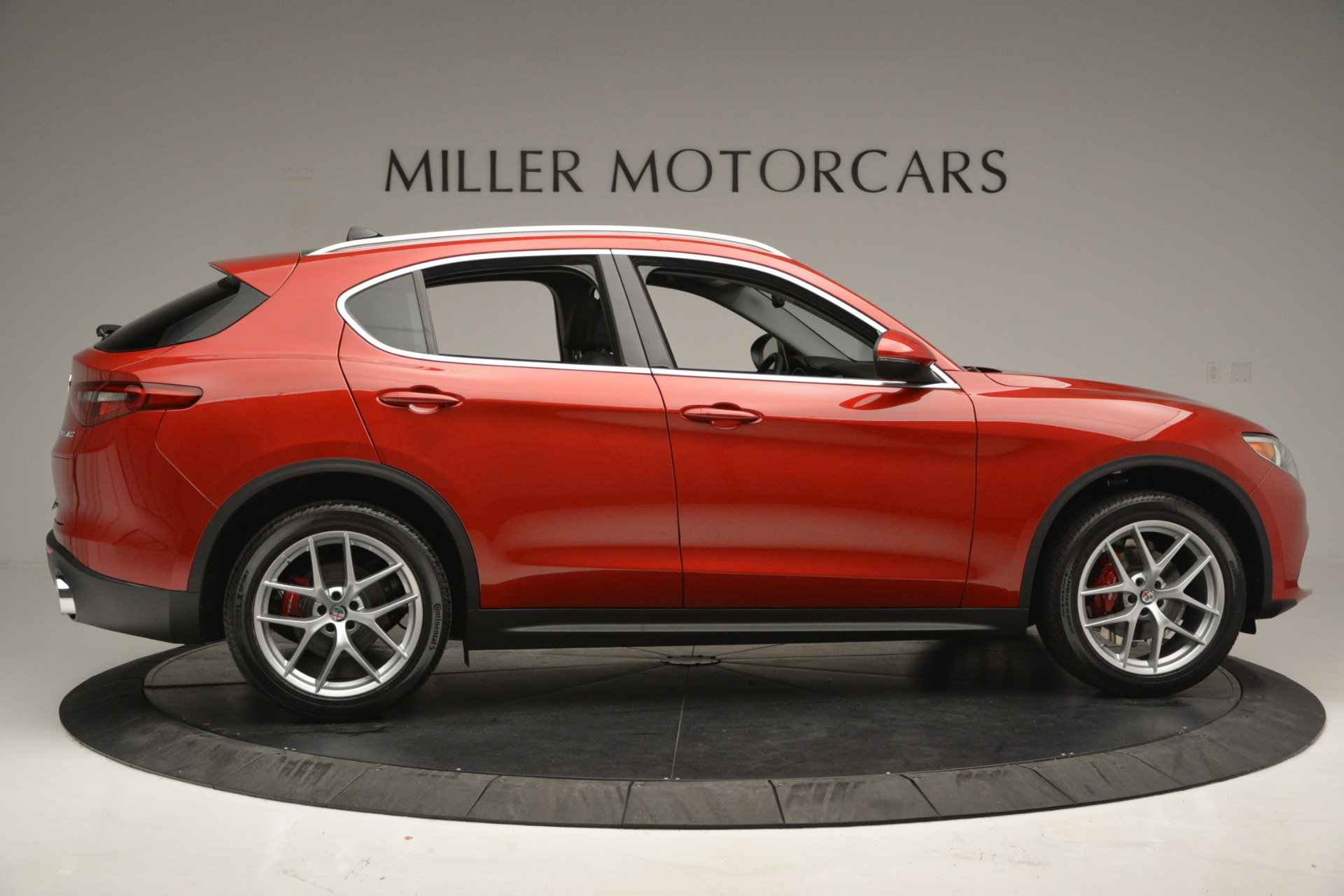 New 2018 Alfa Romeo Stelvio Ti Lusso Q4 For Sale In Westport, CT 2704_p9