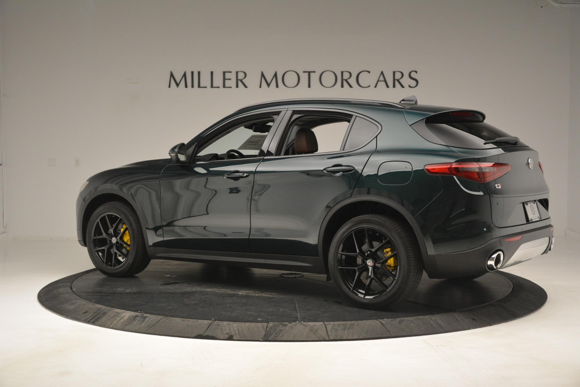 New 2019 Alfa Romeo Stelvio Sport Q4 For Sale In Westport, CT 2709_p4