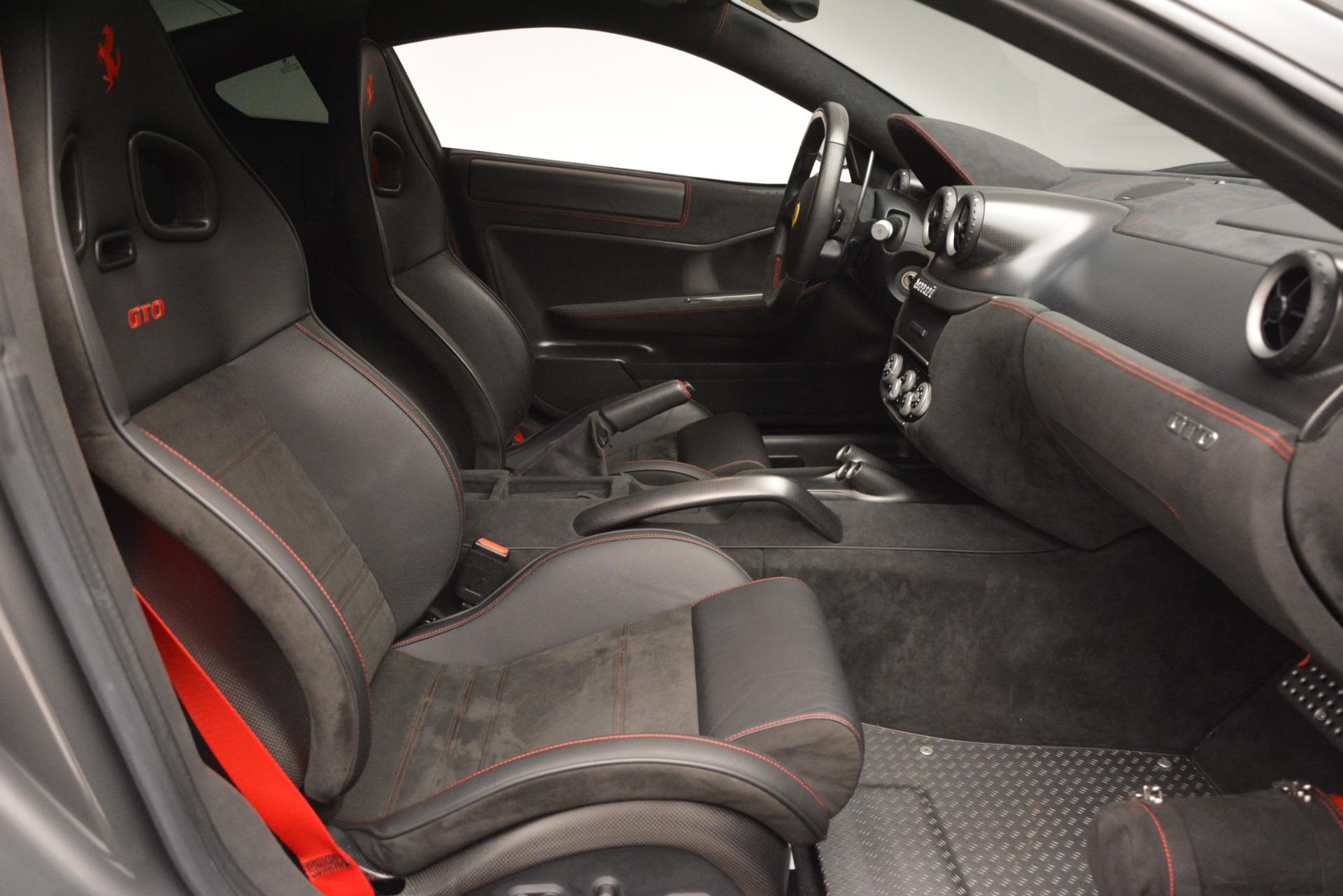 Used 2011 Ferrari 599 GTO  For Sale In Westport, CT 2724_p27