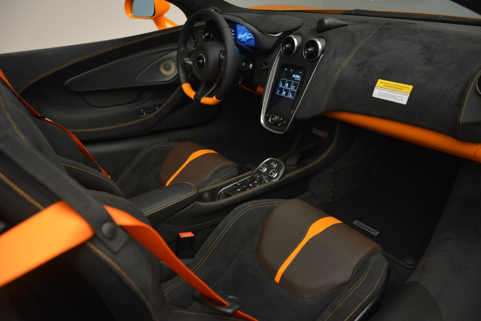 New 2019 McLaren 570S Spider Convertible For Sale In Westport, CT 2728_p26