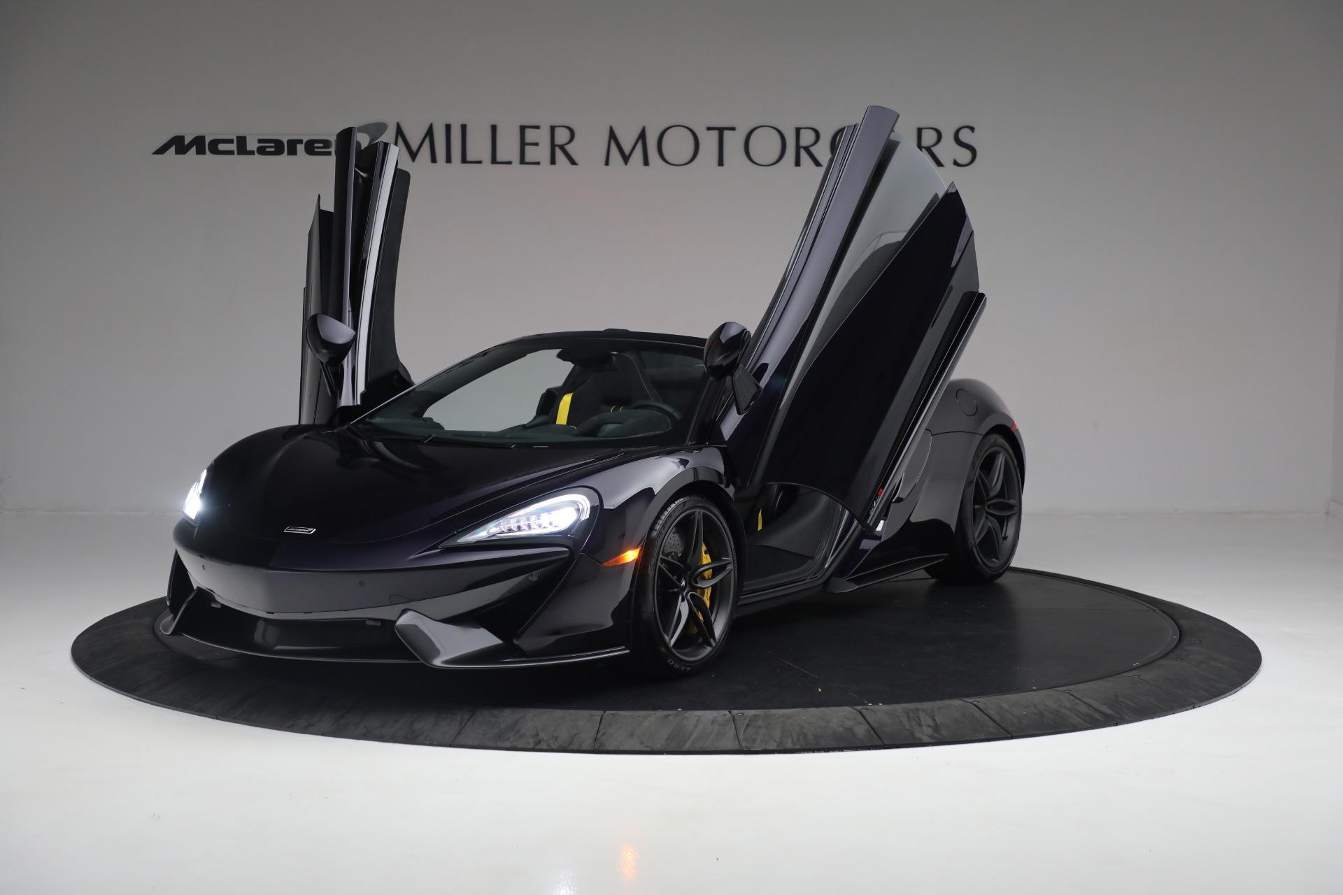 New 2019 McLaren 570S Spider Convertible For Sale In Westport, CT 2729_p24