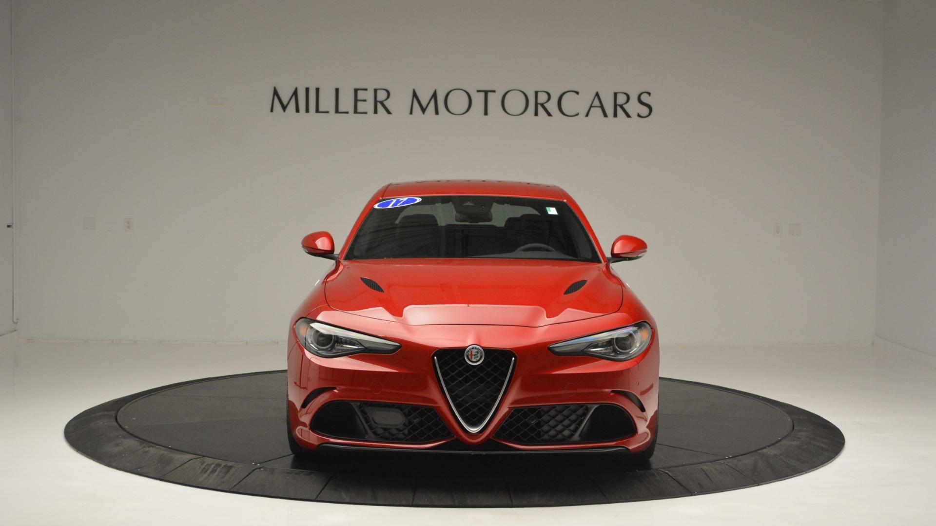 Used 2017 Alfa Romeo Giulia Quadrifoglio  For Sale In Westport, CT 2733_p13