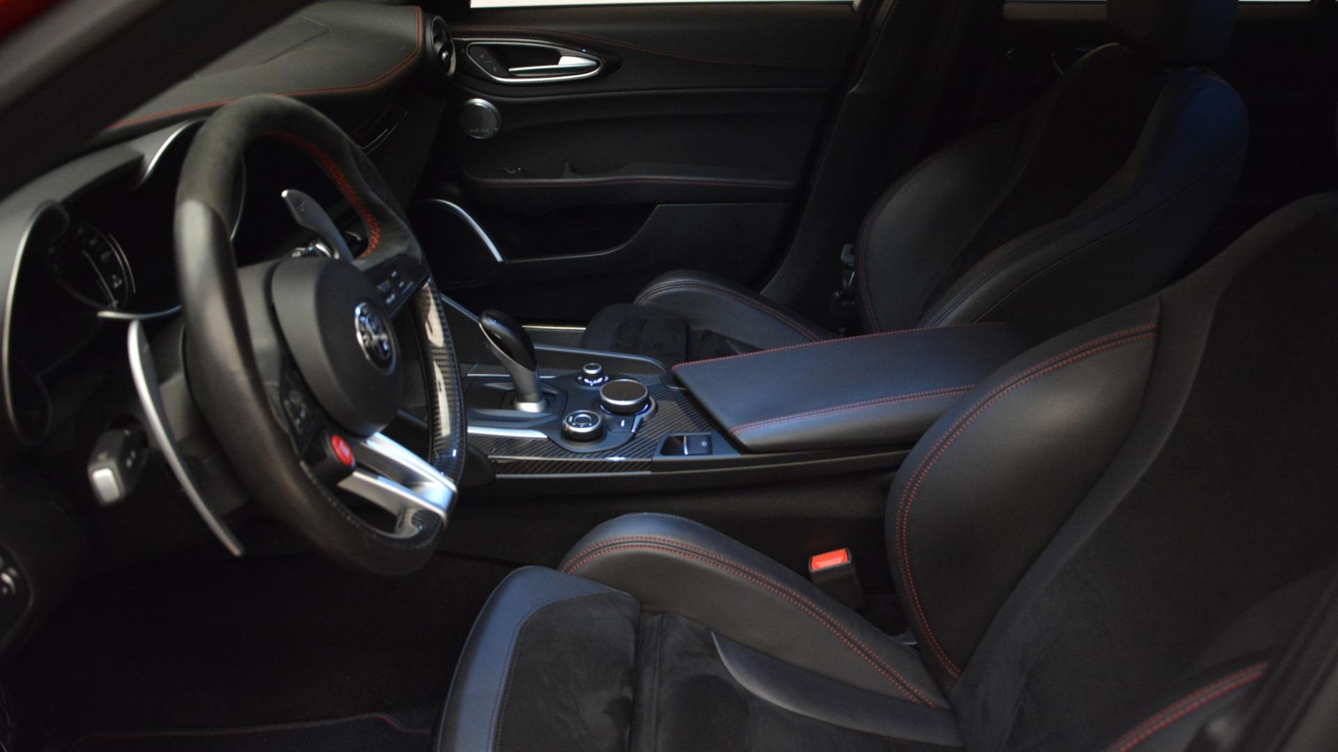 Used 2017 Alfa Romeo Giulia Quadrifoglio  For Sale In Westport, CT 2733_p16