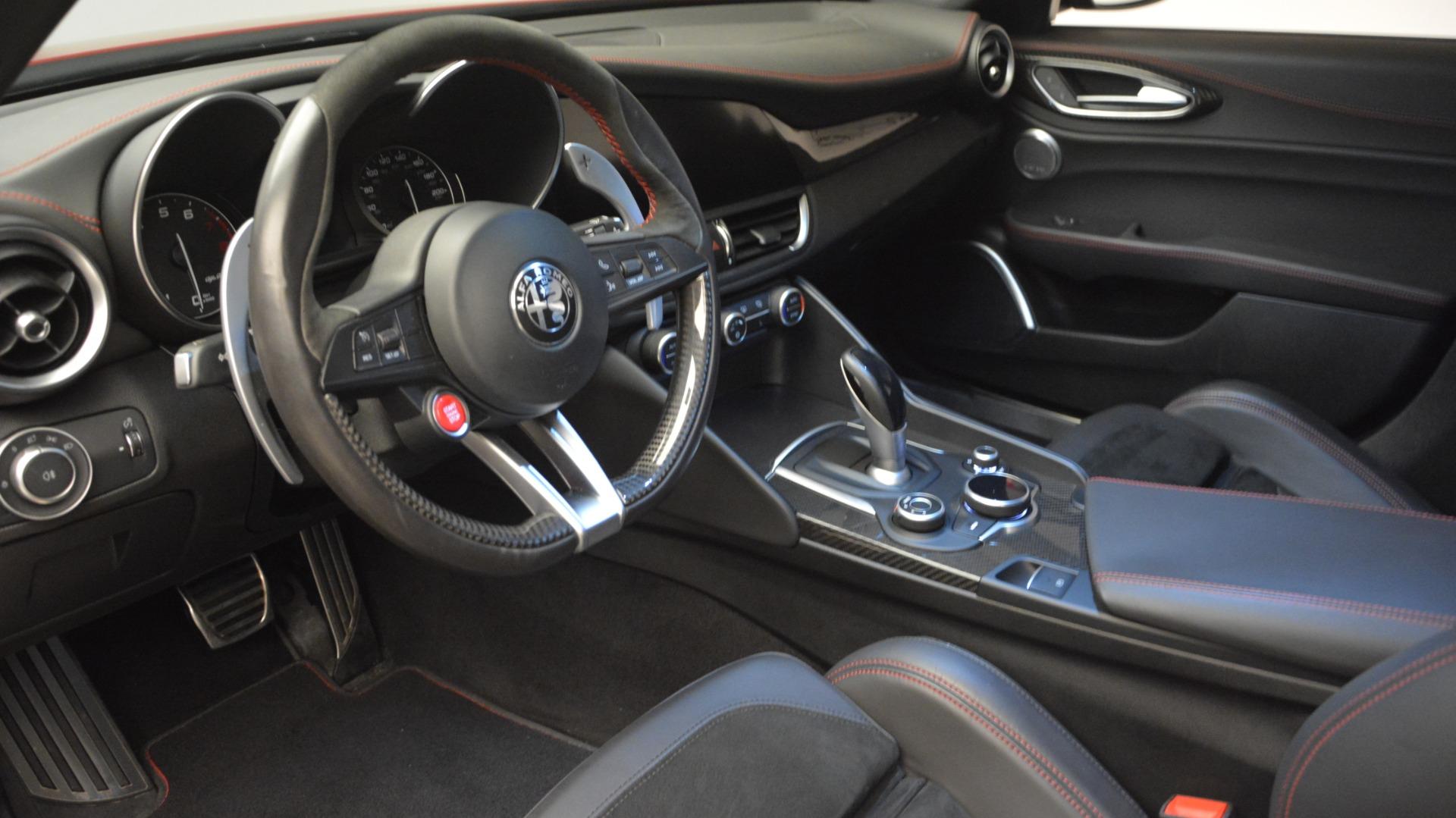 Used 2017 Alfa Romeo Giulia Quadrifoglio  For Sale In Westport, CT 2733_p17