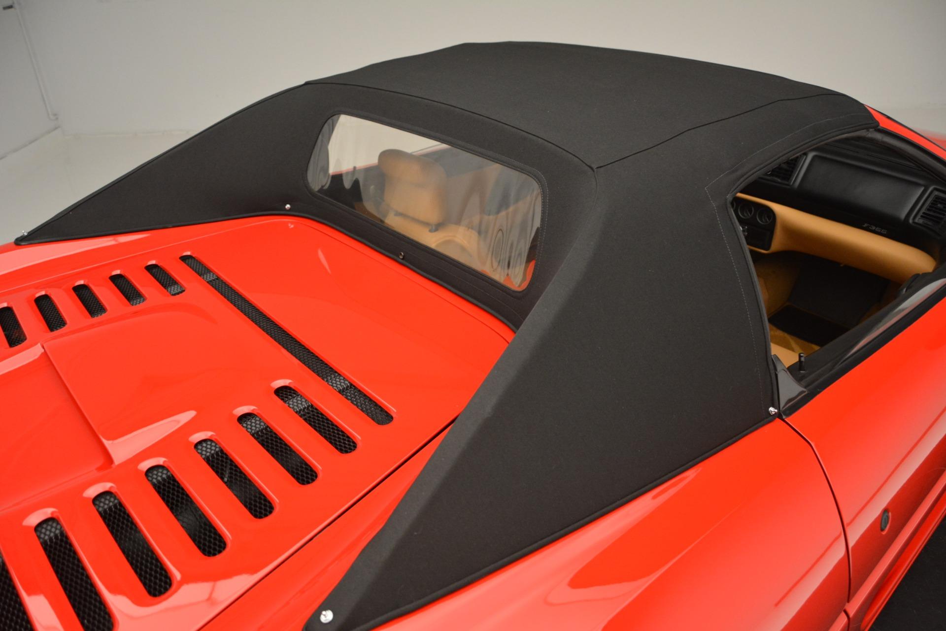 Used 1997 Ferrari 355 Spider 6-Speed Manual For Sale In Westport, CT 2735_p25