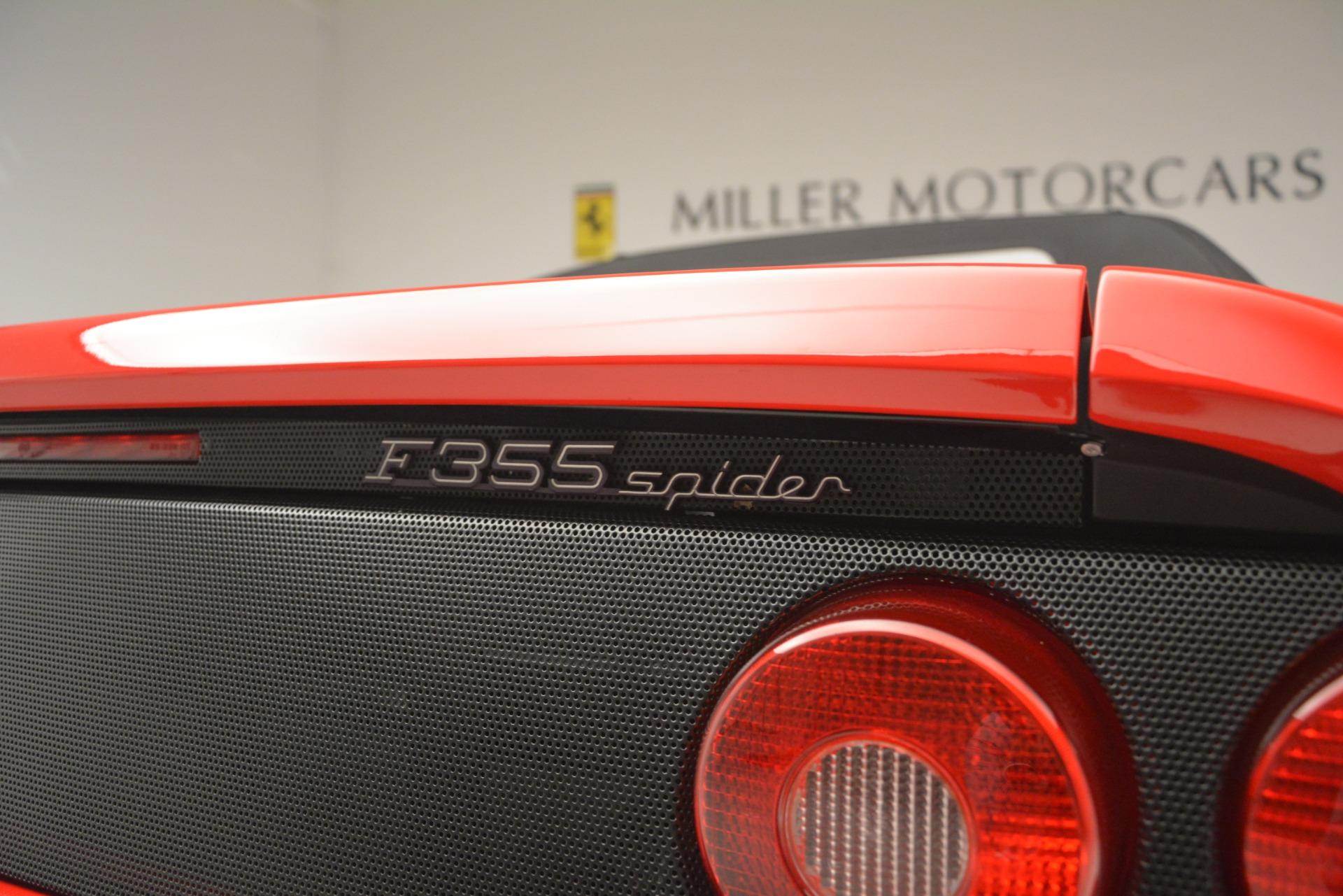 Used 1997 Ferrari 355 Spider 6-Speed Manual For Sale In Westport, CT 2735_p27