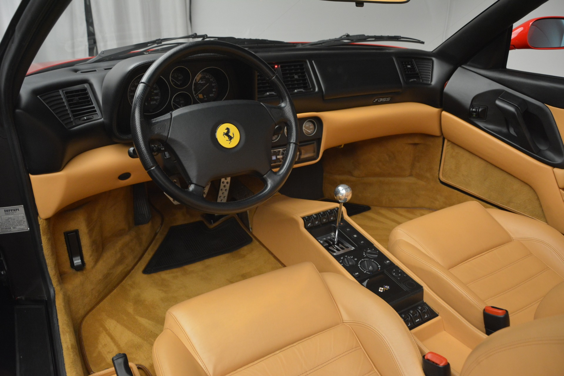 Used 1997 Ferrari 355 Spider 6-Speed Manual For Sale In Westport, CT 2735_p28