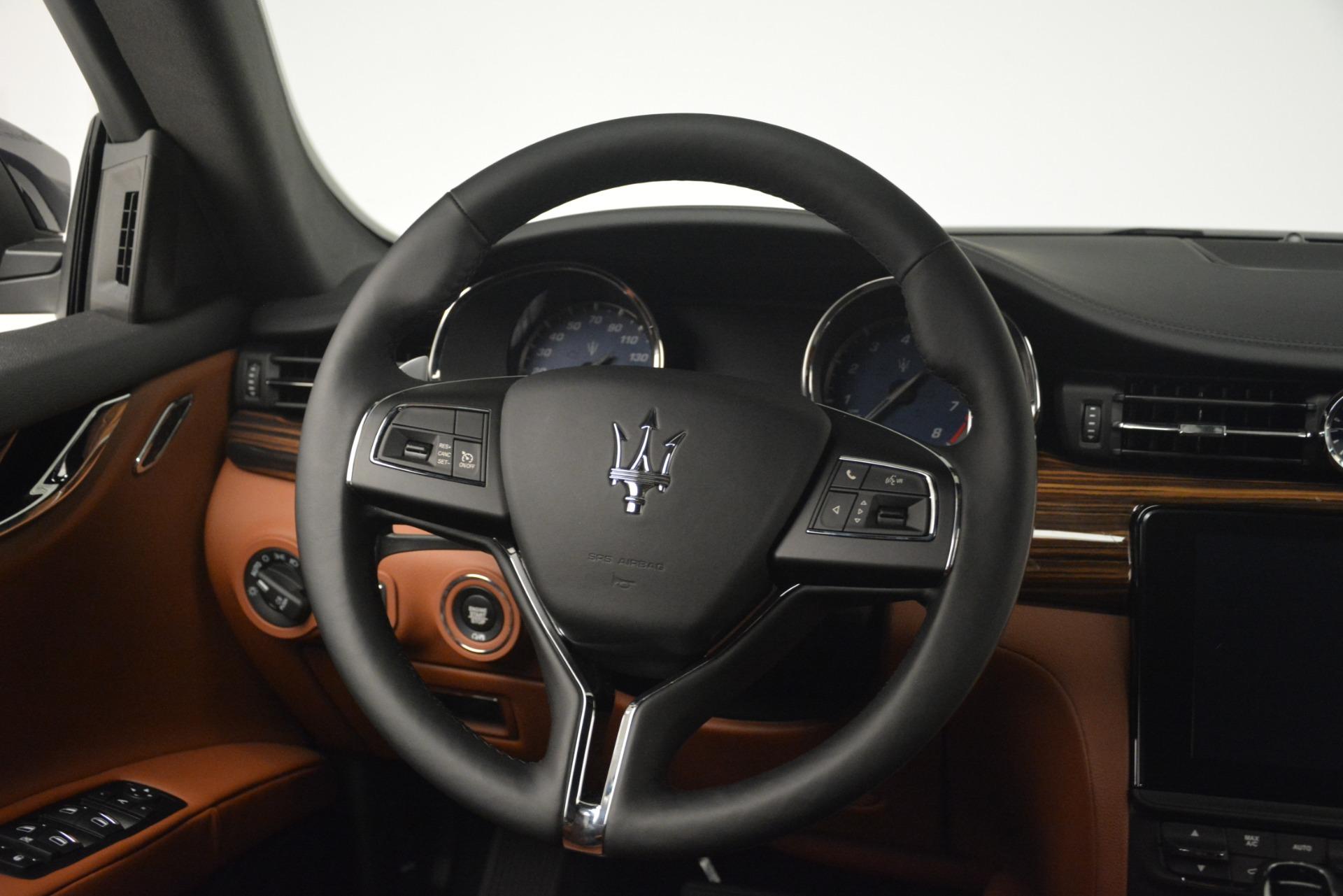 New 2019 Maserati Quattroporte S Q4 For Sale In Westport, CT 2742_p17