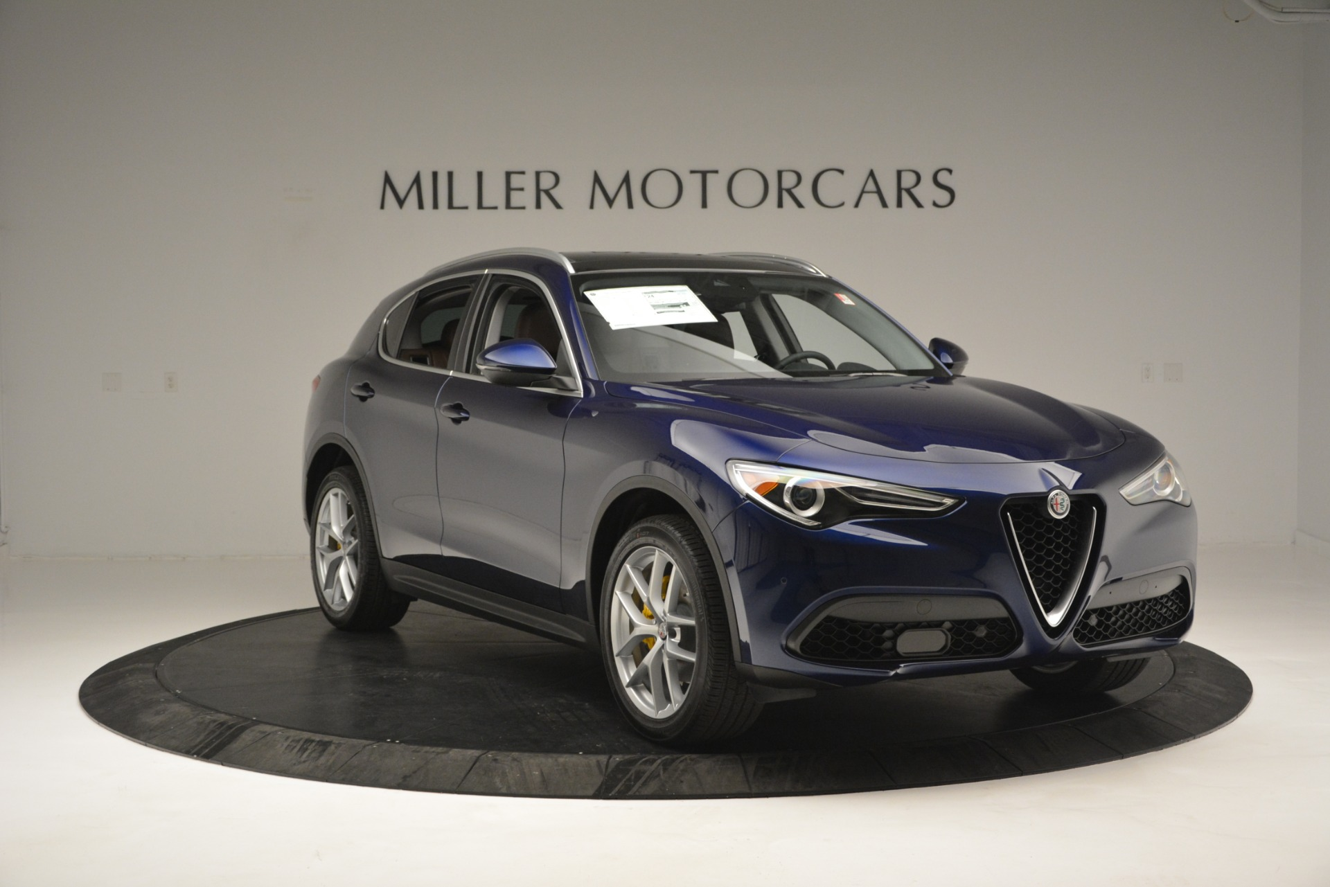 New 2019 Alfa Romeo Stelvio Ti Sport Q4 For Sale In Westport, CT 2743_p11