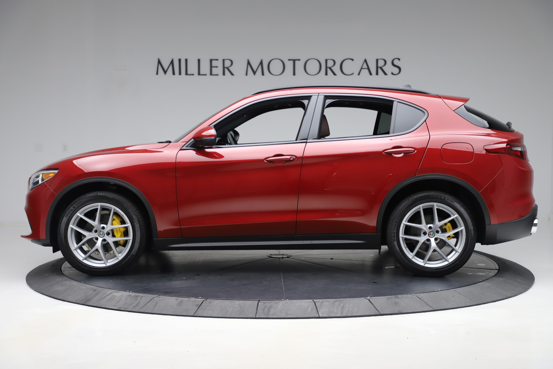 New 2019 Alfa Romeo Stelvio Ti Sport Q4 For Sale In Westport, CT 2744_p3