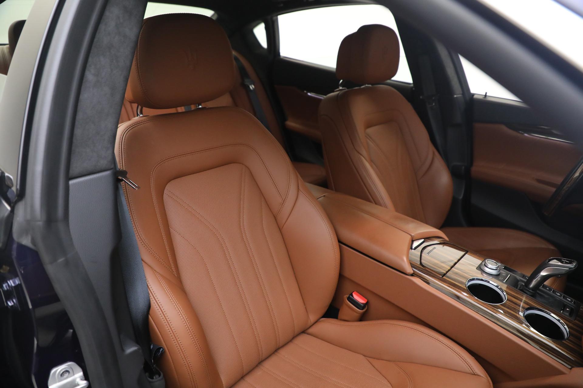 New 2019 Maserati Quattroporte S Q4 GranLusso For Sale In Westport, CT 2746_p20