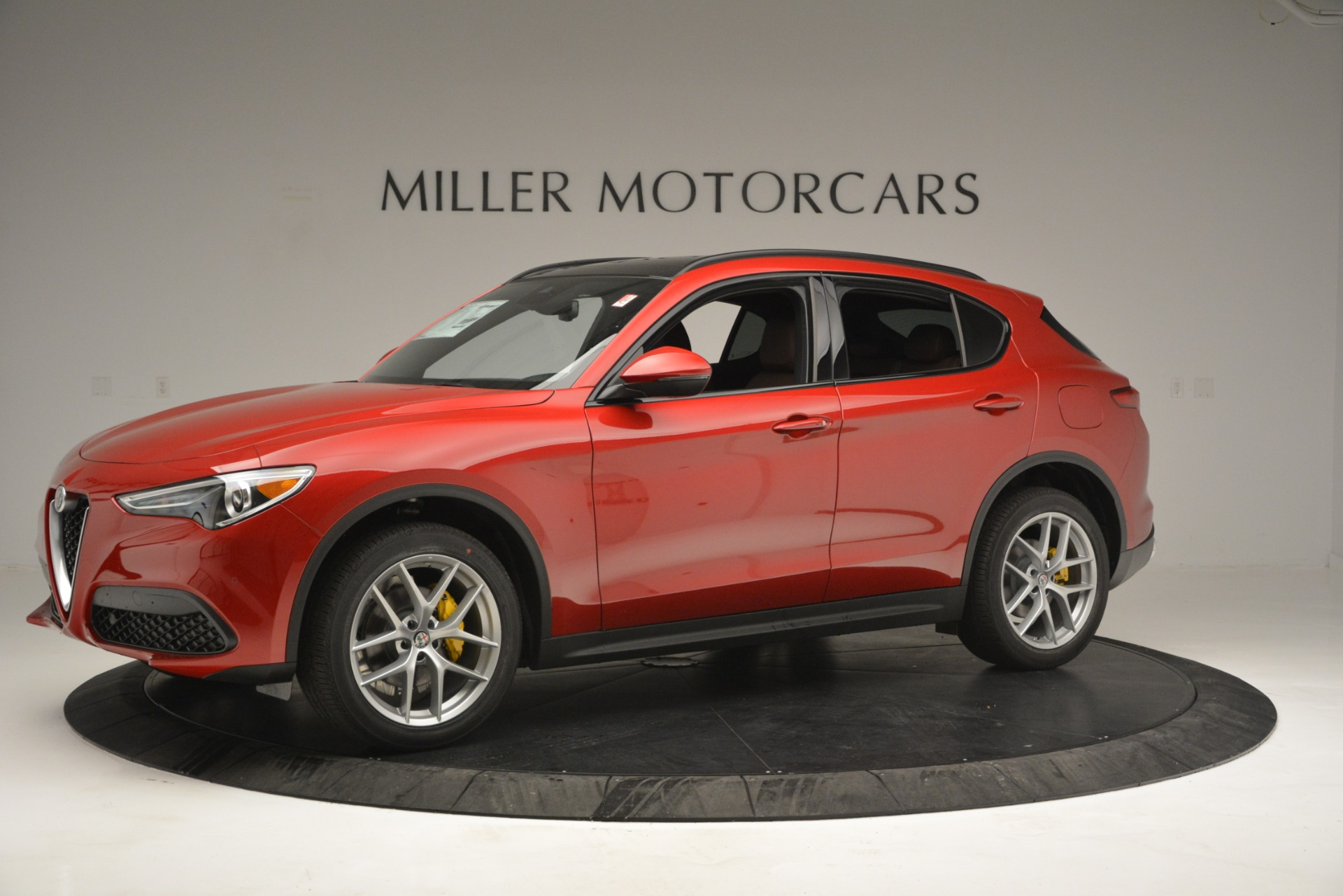 New 2019 Alfa Romeo Stelvio Ti Sport Q4 For Sale In Westport, CT 2747_p2