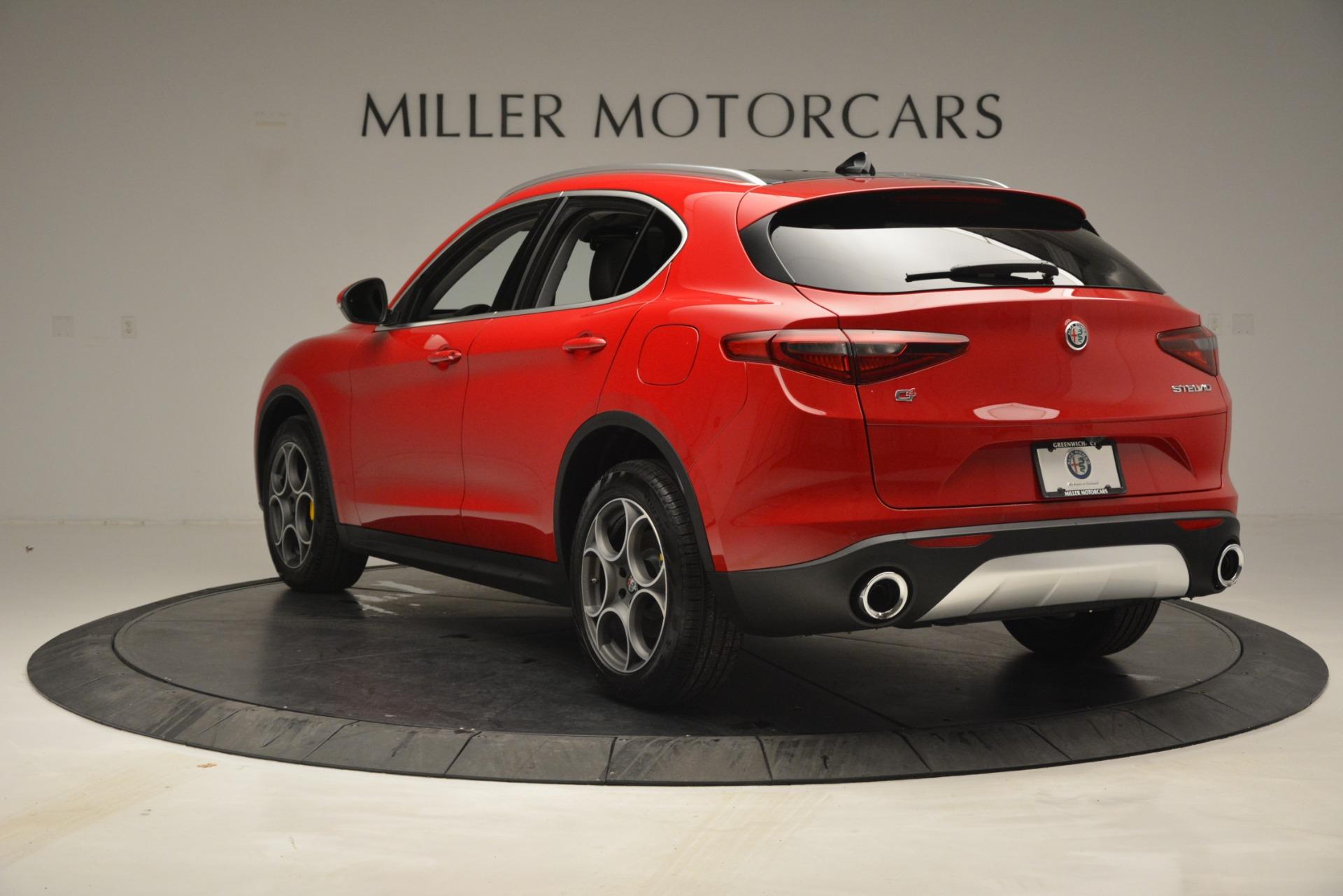 New 2019 Alfa Romeo Stelvio Q4 For Sale In Westport, CT 2759_p5