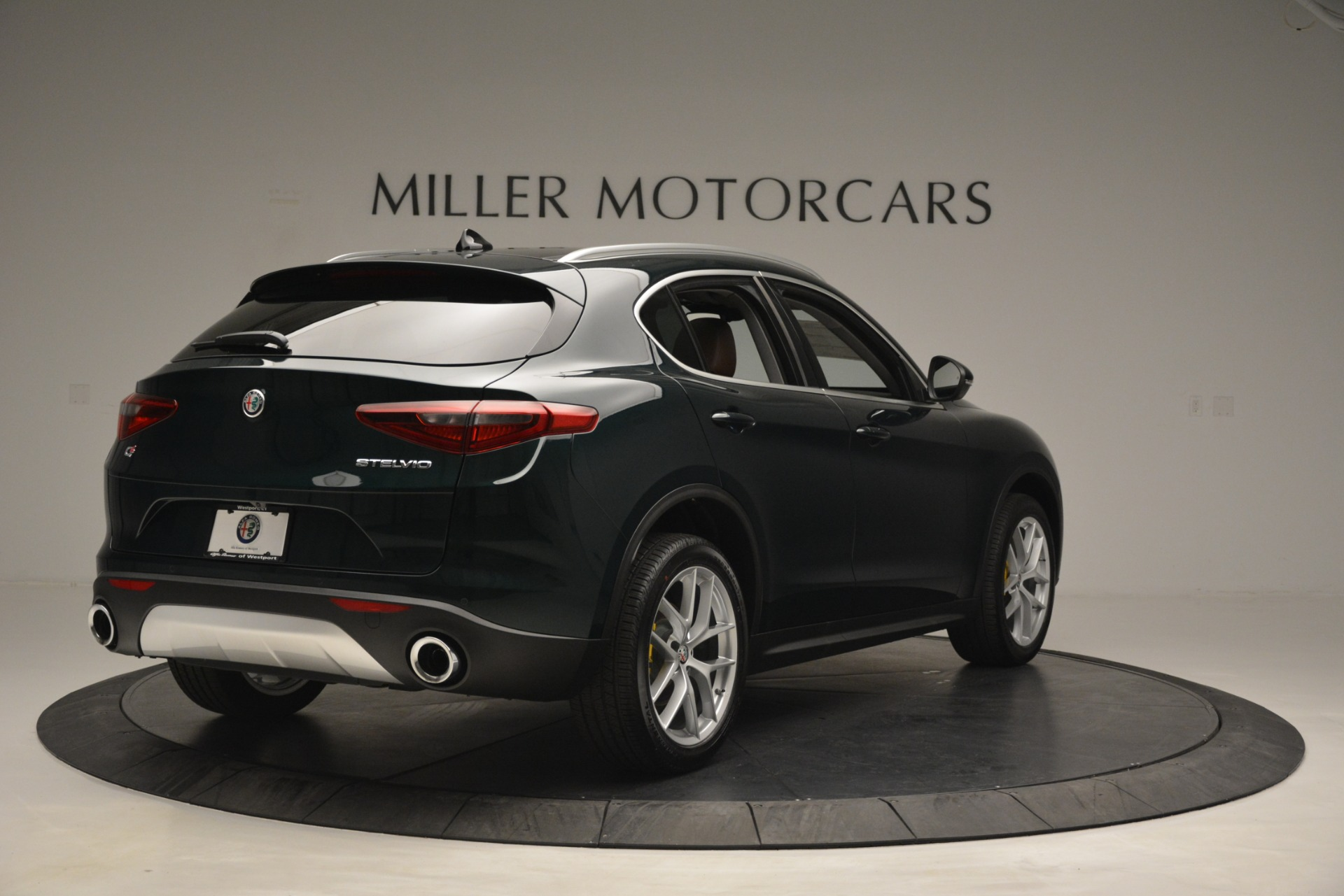 New 2019 Alfa Romeo Stelvio Q4 For Sale In Westport, CT 2761_p7