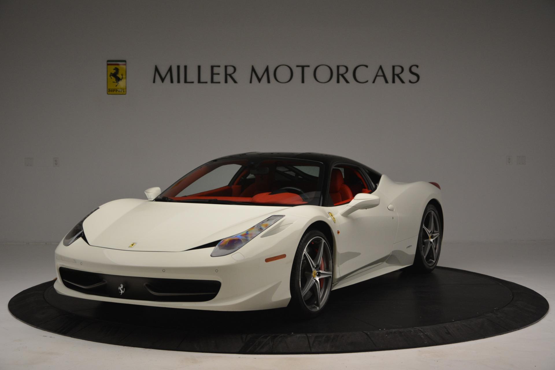 Used 2012 Ferrari 458 Italia  For Sale In Westport, CT 2781_main