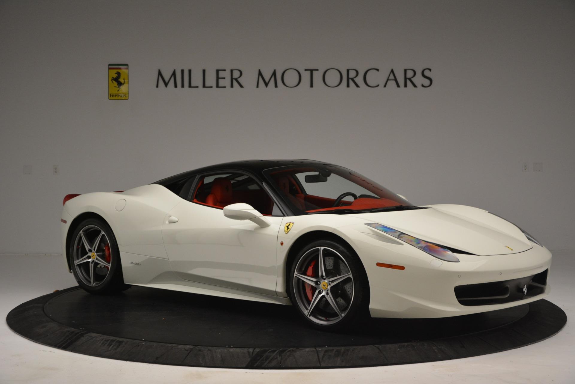 Used 2012 Ferrari 458 Italia  For Sale In Westport, CT 2781_p10