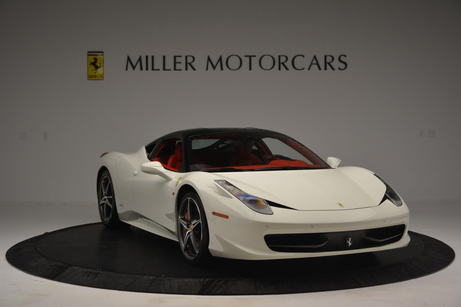 Used 2012 Ferrari 458 Italia  For Sale In Westport, CT 2781_p11