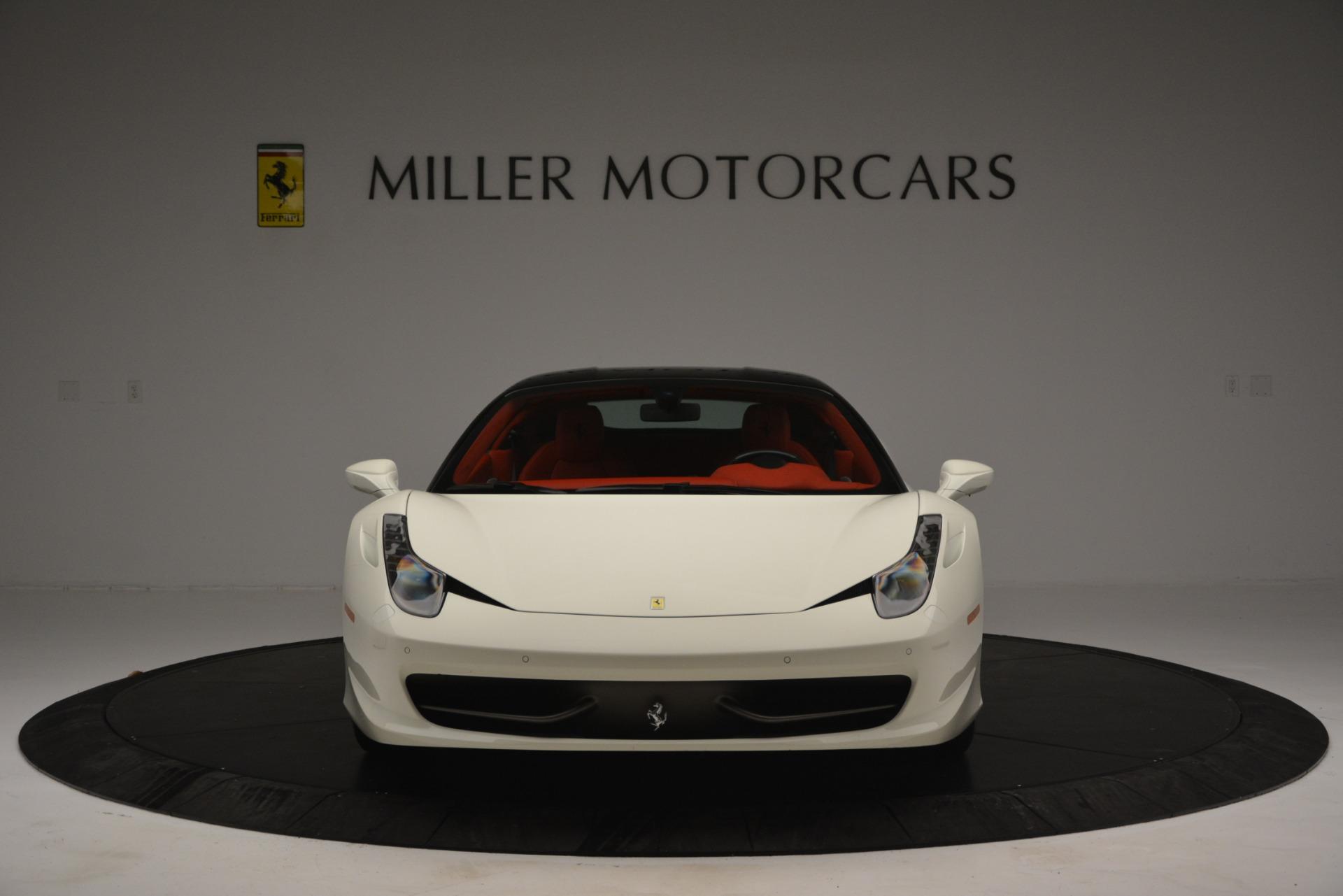 Used 2012 Ferrari 458 Italia  For Sale In Westport, CT 2781_p12