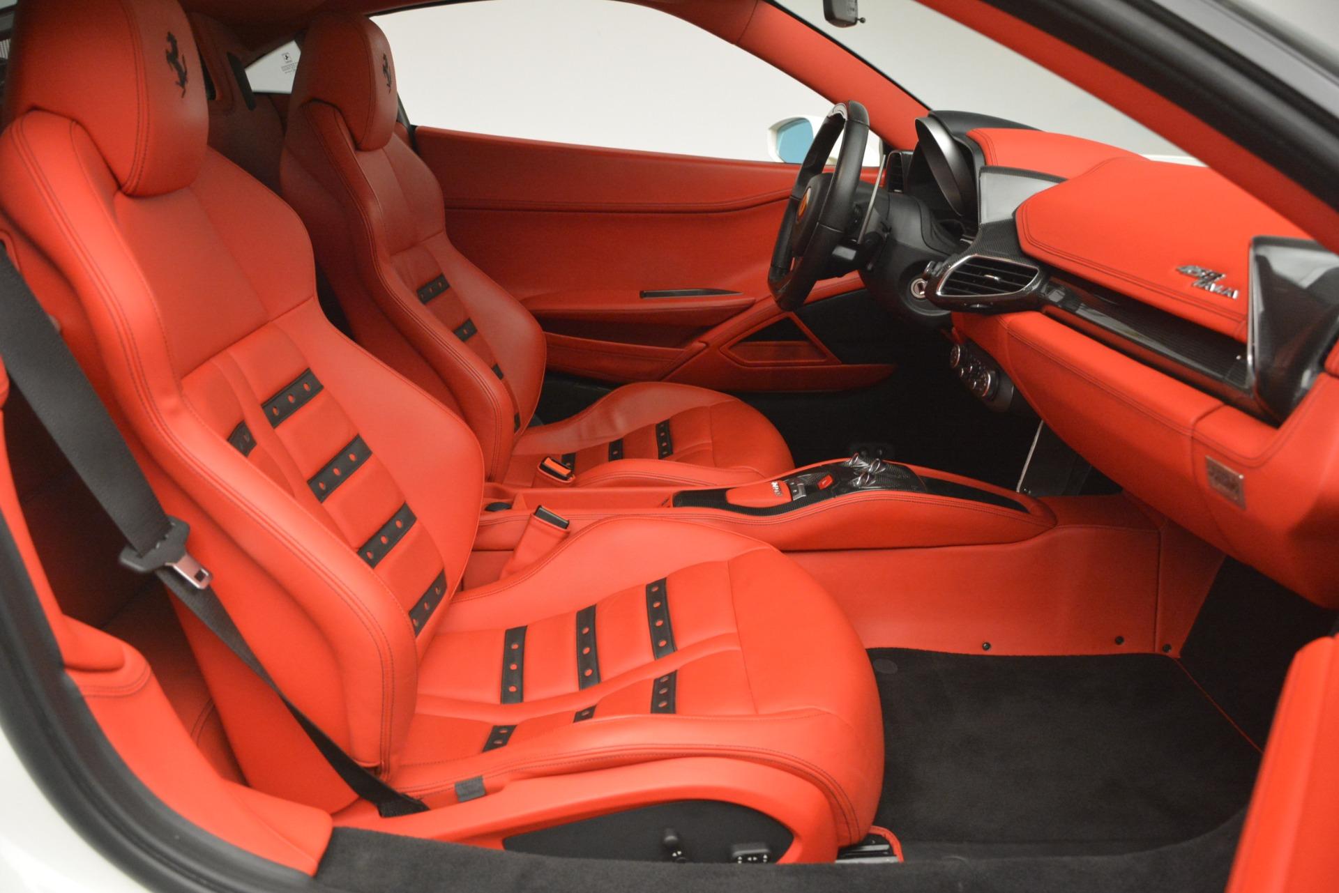 Used 2012 Ferrari 458 Italia  For Sale In Westport, CT 2781_p18