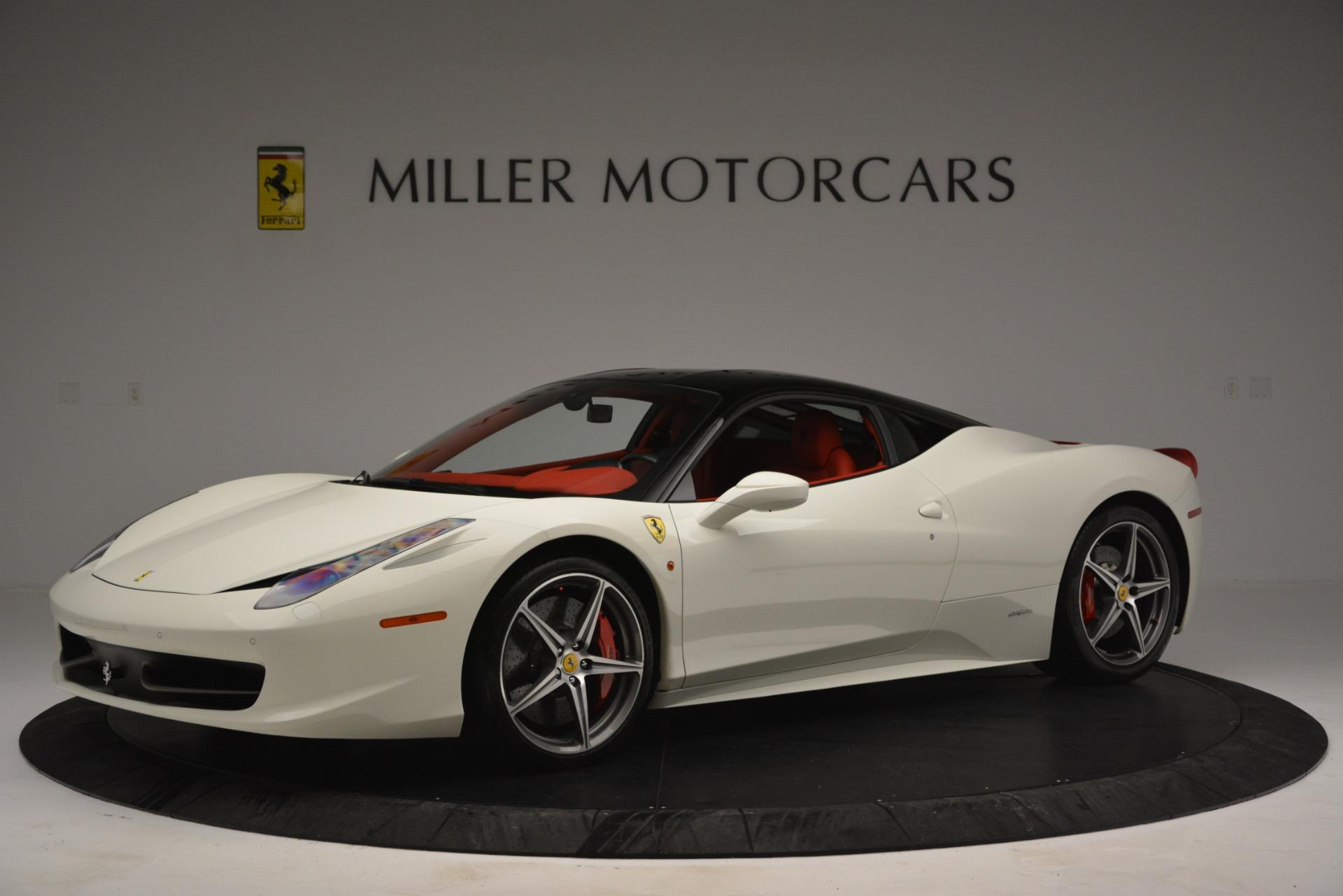 Used 2012 Ferrari 458 Italia  For Sale In Westport, CT 2781_p2