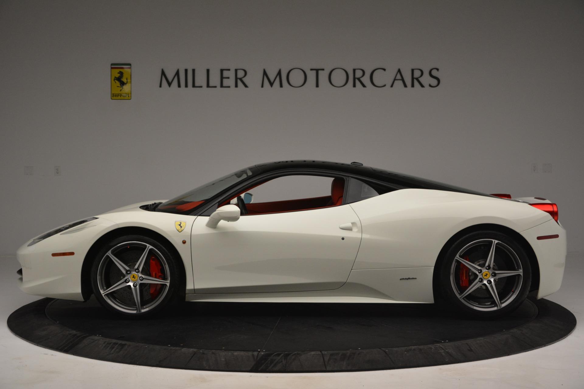 Used 2012 Ferrari 458 Italia  For Sale In Westport, CT 2781_p3