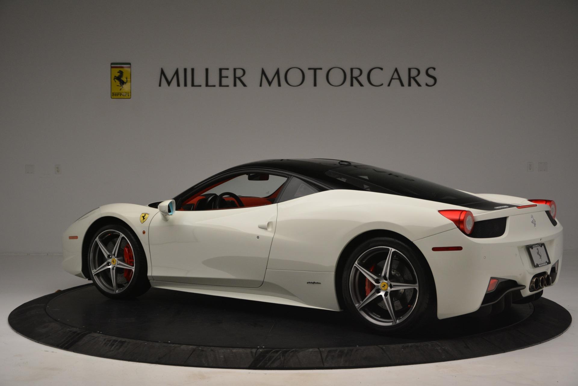 Used 2012 Ferrari 458 Italia  For Sale In Westport, CT 2781_p4