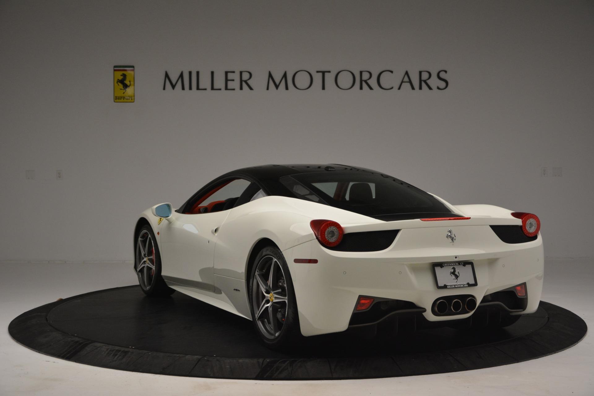Used 2012 Ferrari 458 Italia  For Sale In Westport, CT 2781_p5