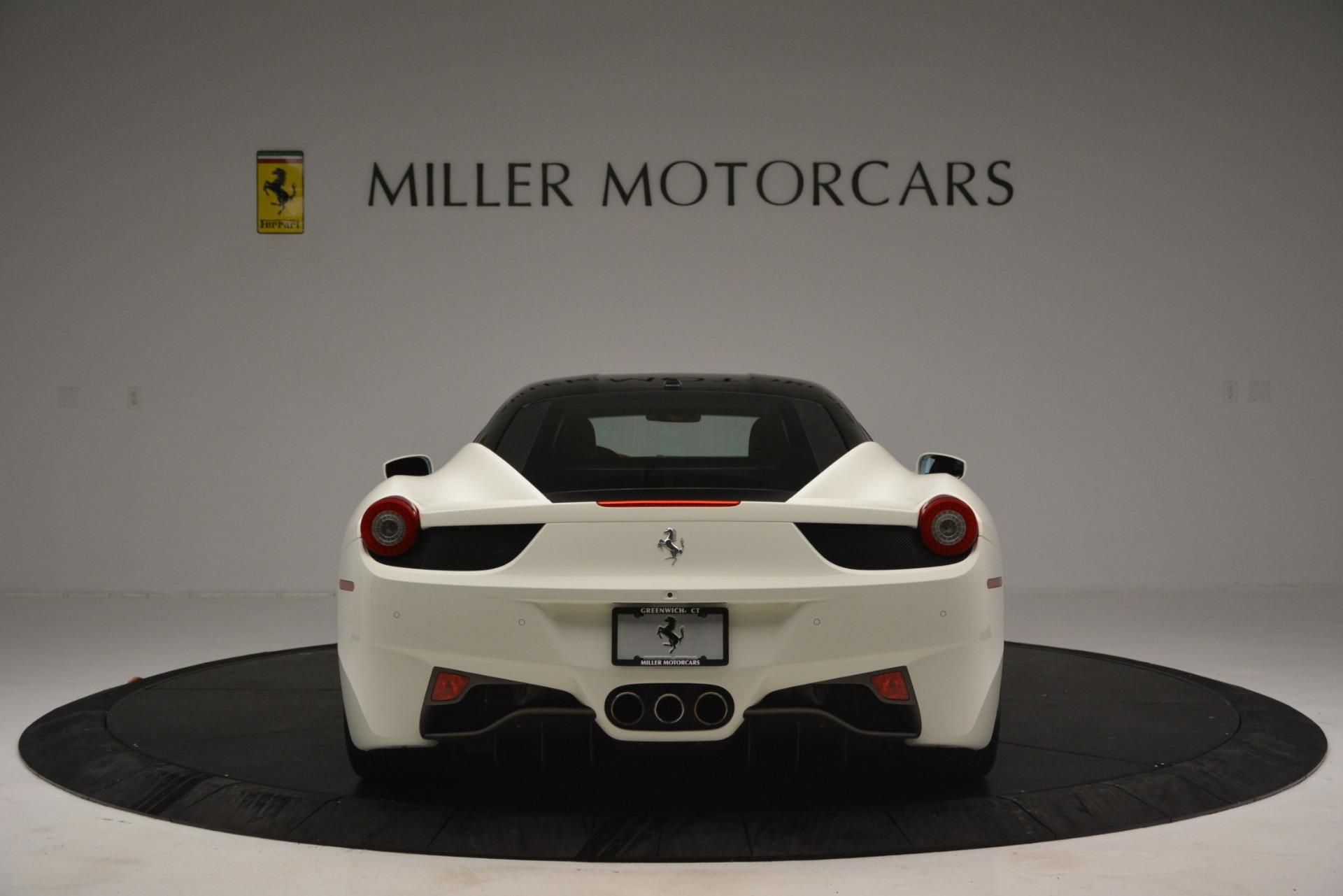 Used 2012 Ferrari 458 Italia  For Sale In Westport, CT 2781_p6