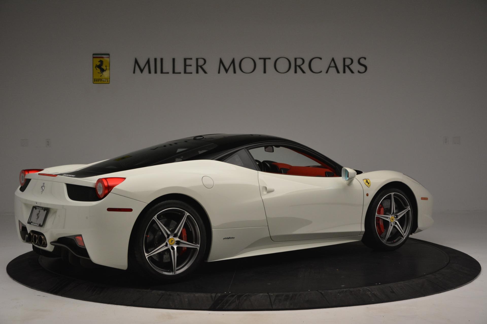 Used 2012 Ferrari 458 Italia  For Sale In Westport, CT 2781_p8