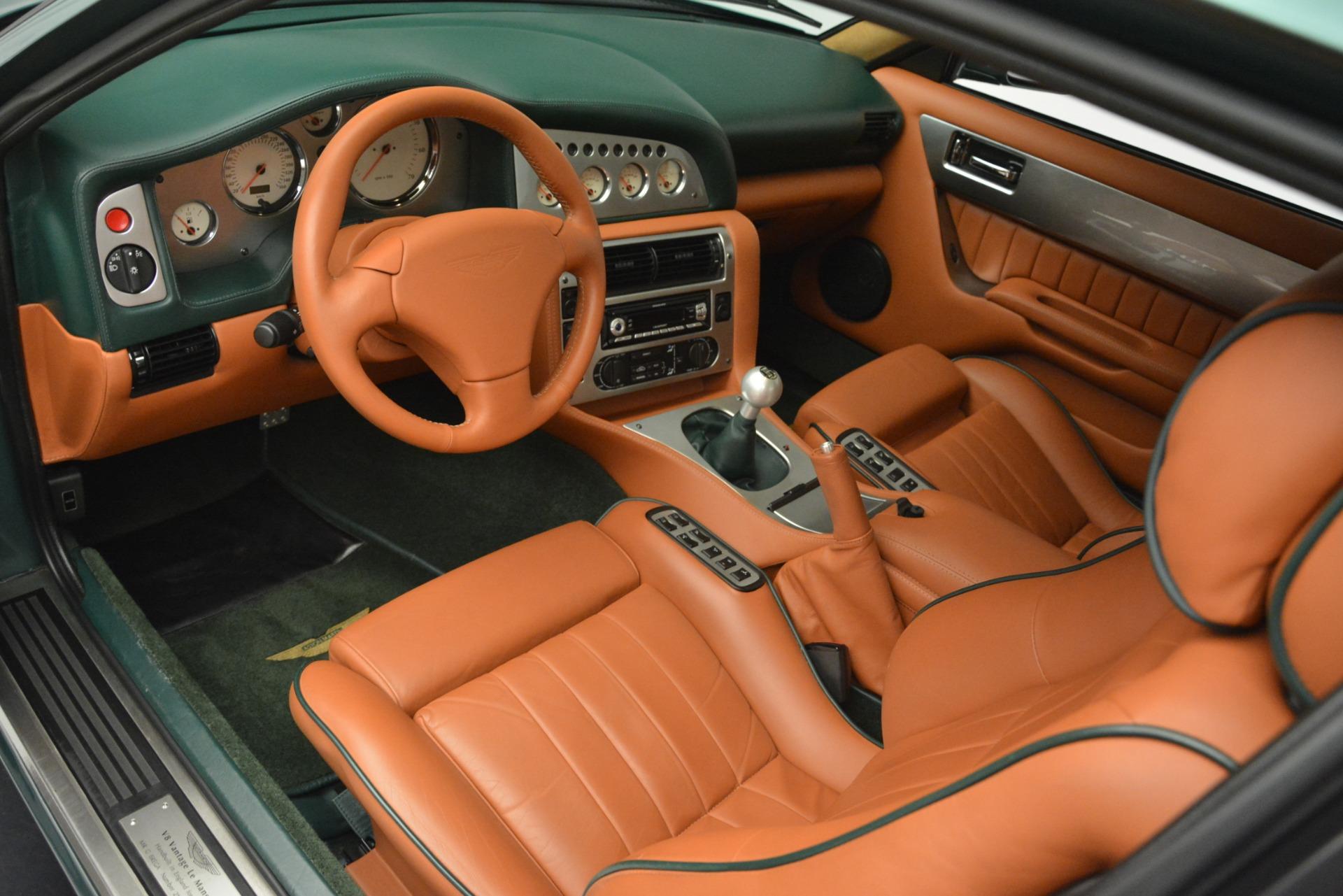 Used 1999 Aston Martin V8 Vantage Le Mans V600  For Sale In Westport, CT 2789_p15