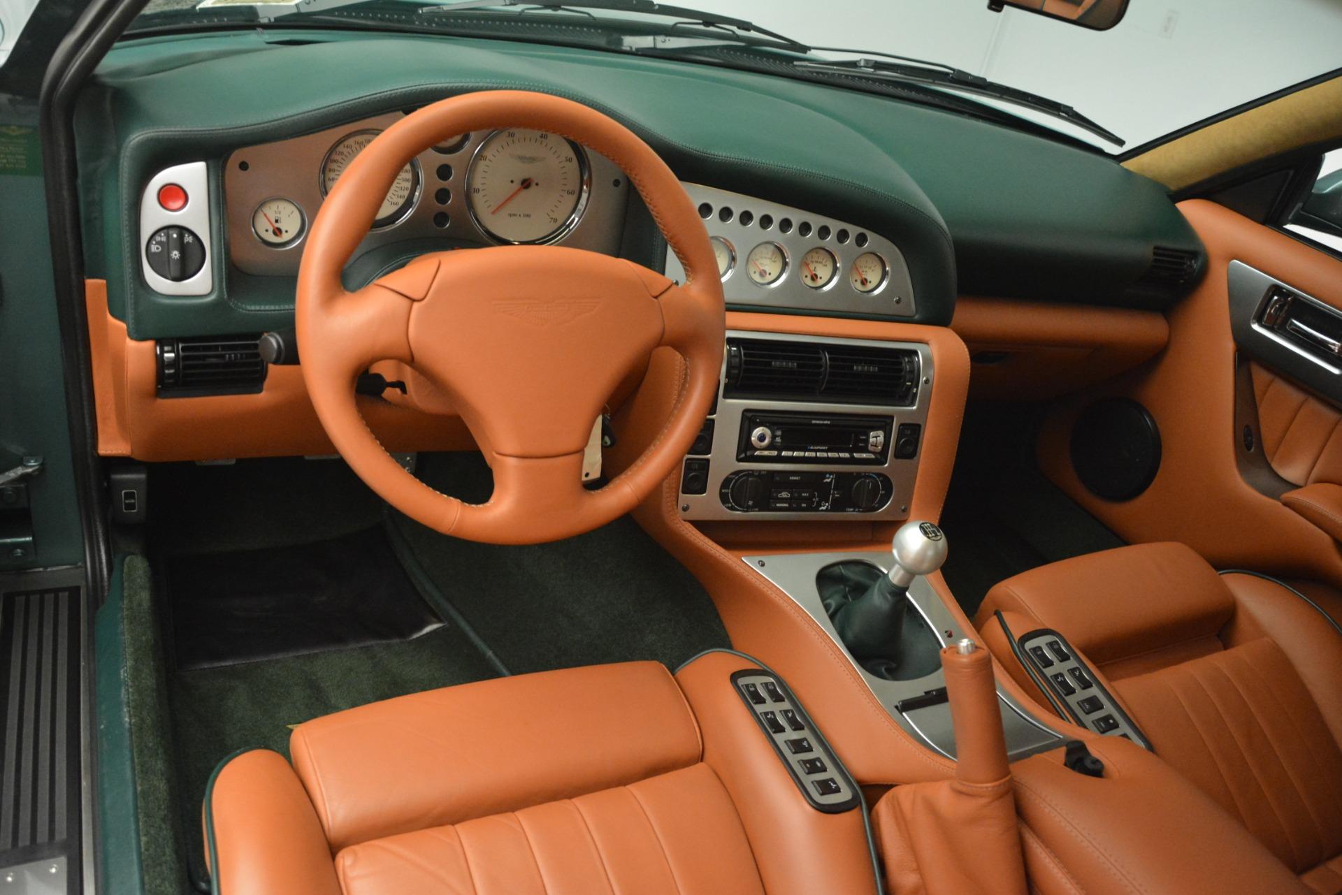Used 1999 Aston Martin V8 Vantage Le Mans V600  For Sale In Westport, CT 2789_p16