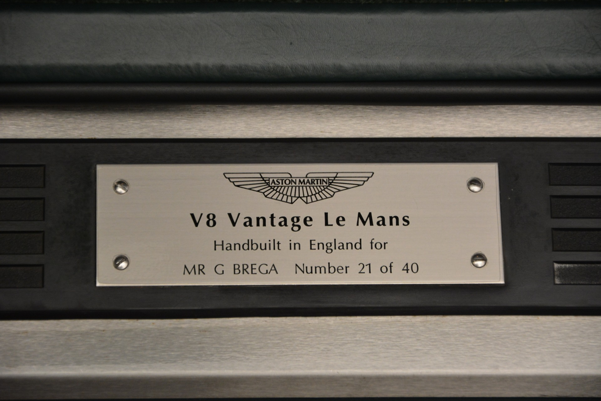 Used 1999 Aston Martin V8 Vantage Le Mans V600 Coupe For Sale In Westport, CT 2789_p19