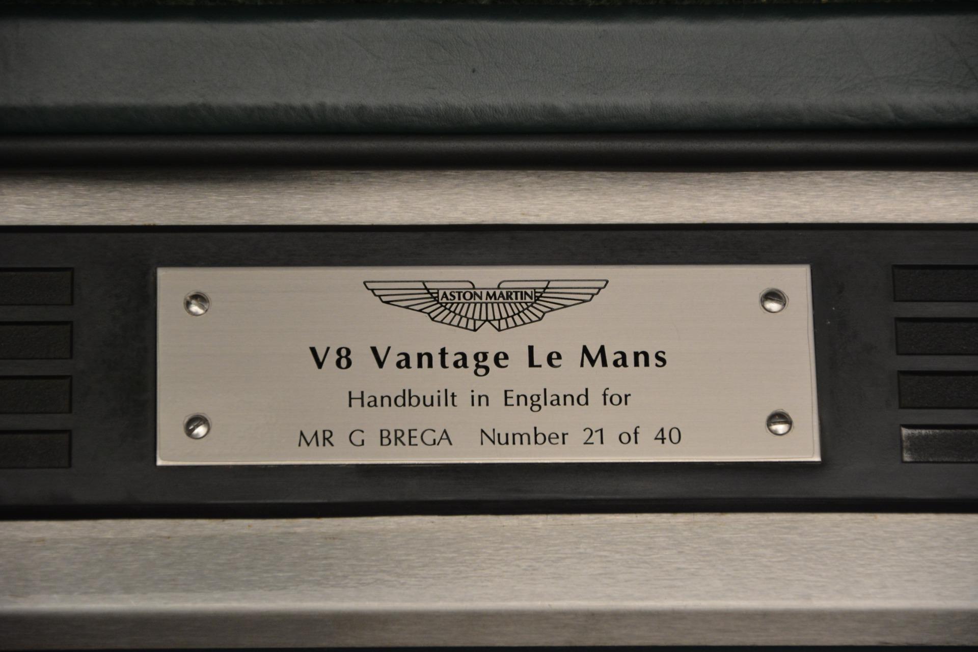 Used 1999 Aston Martin V8 Vantage Le Mans V600  For Sale In Westport, CT 2789_p19