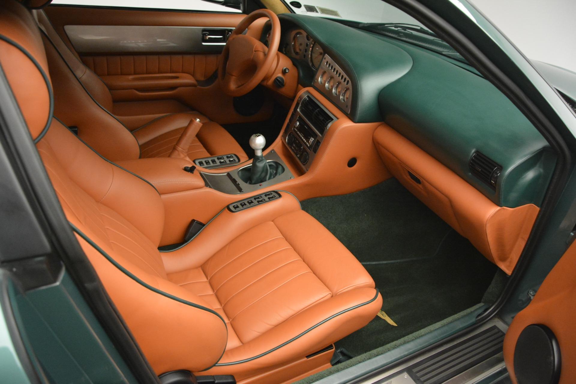 Used 1999 Aston Martin V8 Vantage Le Mans V600  For Sale In Westport, CT 2789_p25