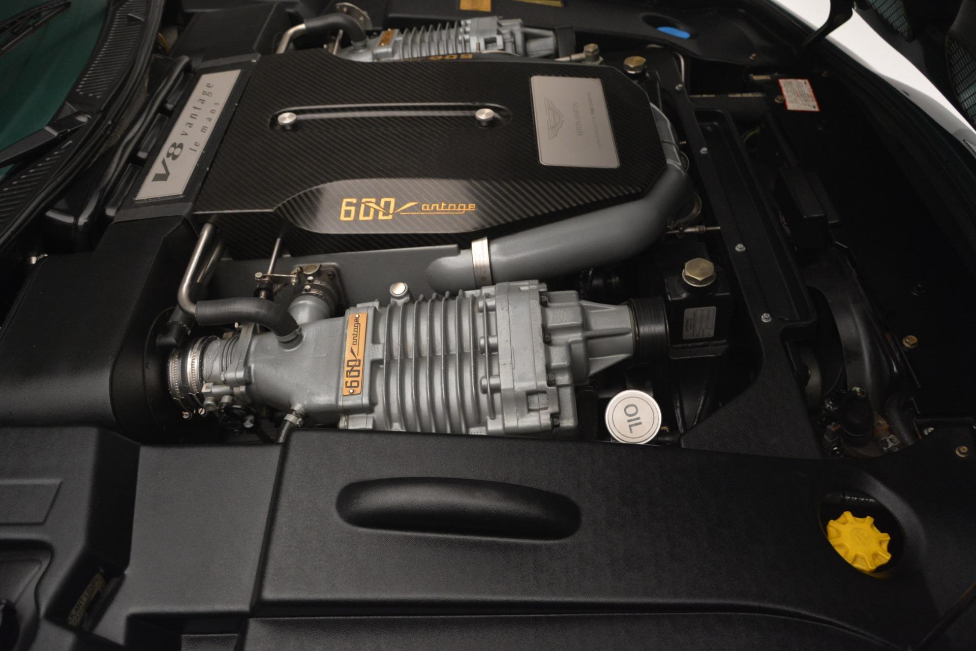 Used 1999 Aston Martin V8 Vantage Le Mans V600  For Sale In Westport, CT 2789_p32
