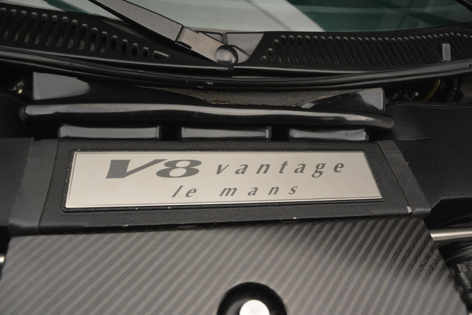 Used 1999 Aston Martin V8 Vantage Le Mans V600  For Sale In Westport, CT 2789_p33