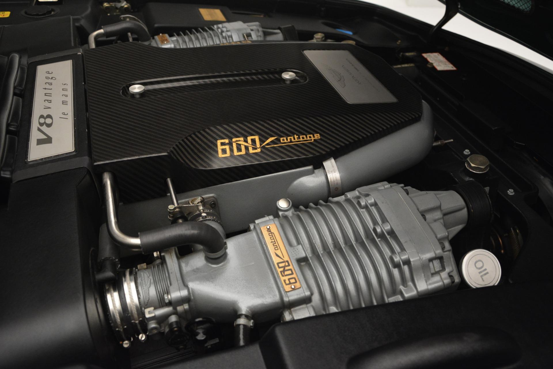 Used 1999 Aston Martin V8 Vantage Le Mans V600  For Sale In Westport, CT 2789_p34