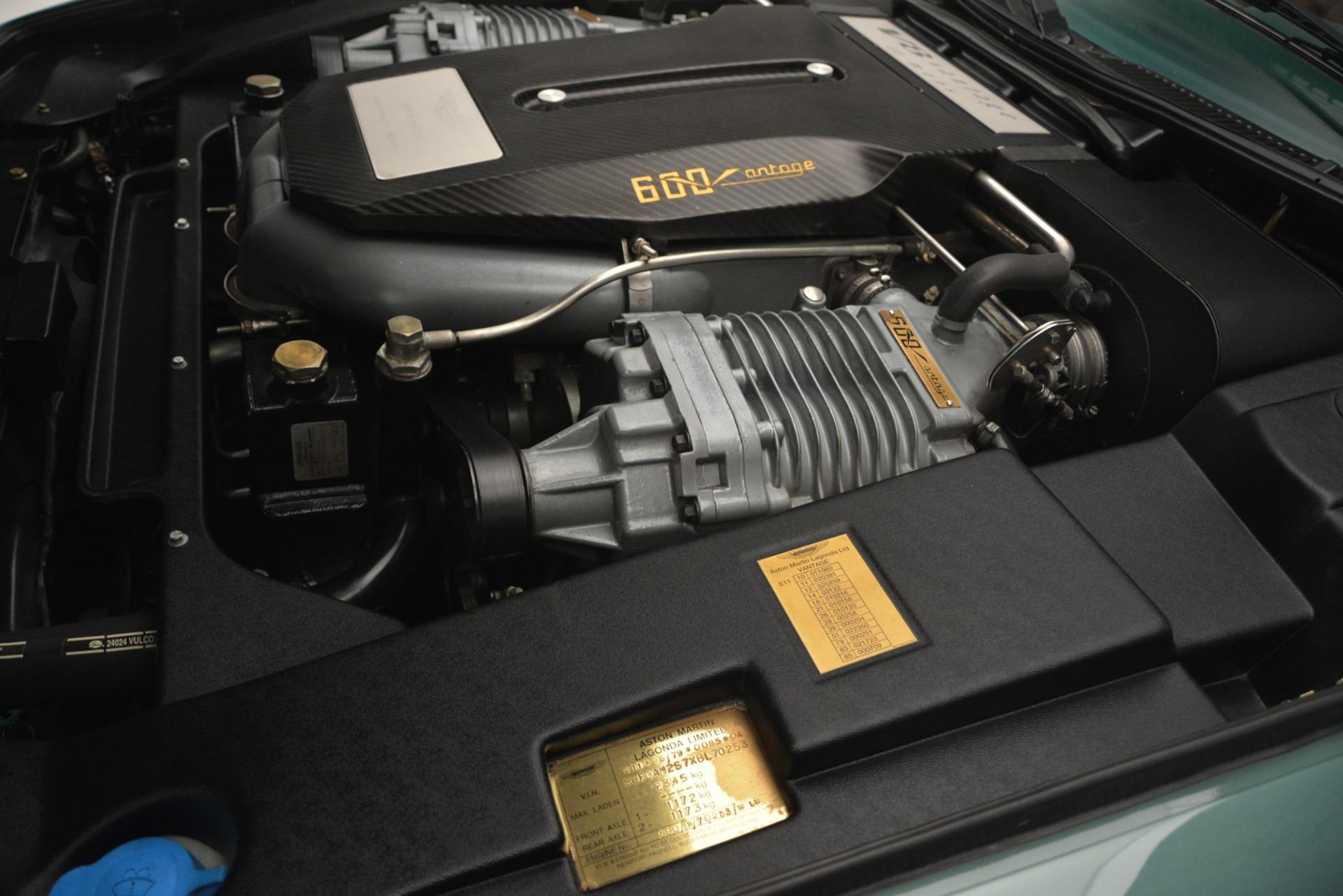 Used 1999 Aston Martin V8 Vantage Le Mans V600  For Sale In Westport, CT 2789_p35