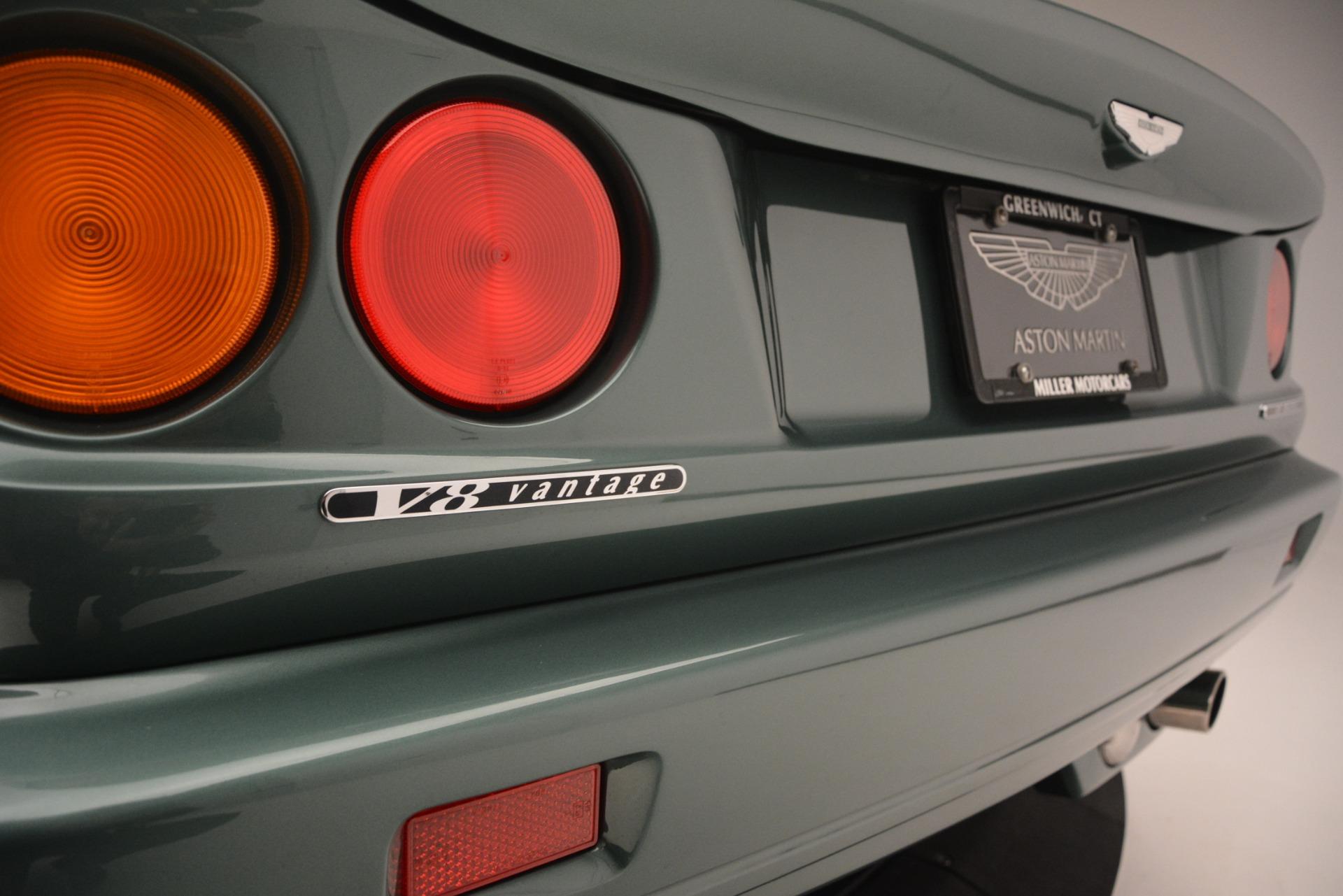 Used 1999 Aston Martin V8 Vantage Le Mans V600  For Sale In Westport, CT 2789_p40